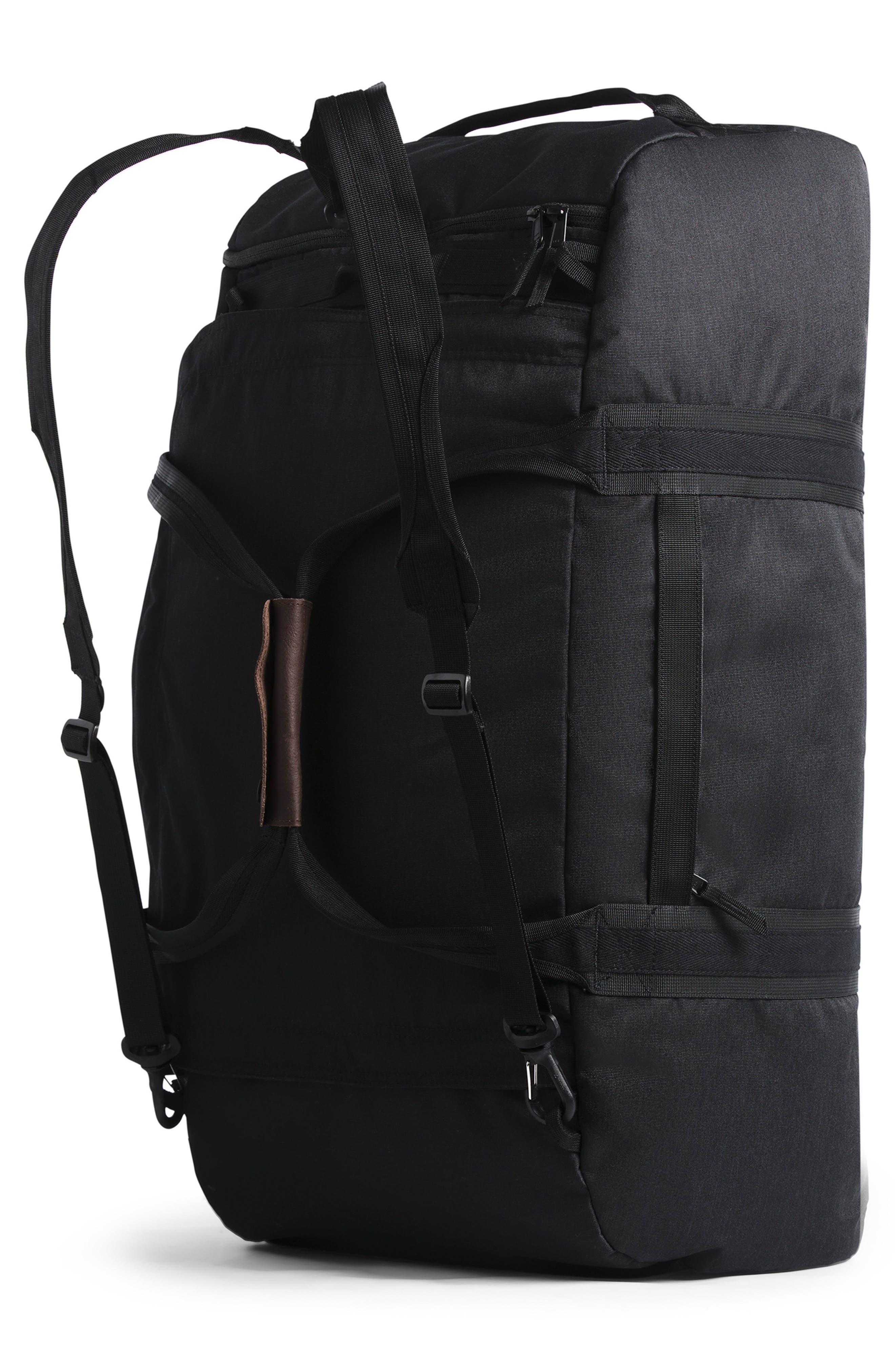 THE NORTH FACE, Berkeley Duffle Bag, Alternate thumbnail 2, color, BLACK HEATHER