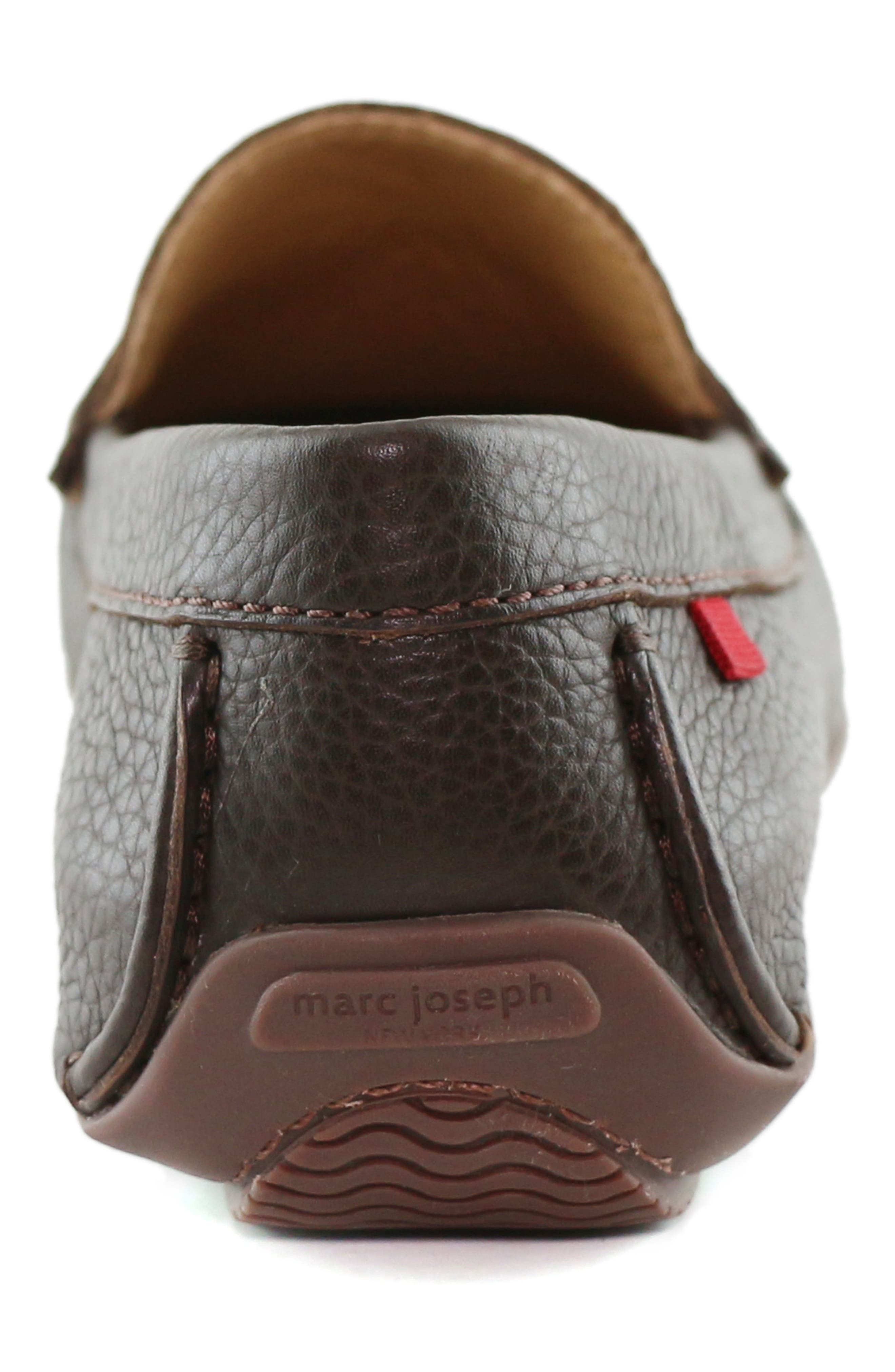 MARC JOSEPH NEW YORK, 'Union Street' Penny Loafer, Alternate thumbnail 7, color, BROWN GRAINY LEATHER