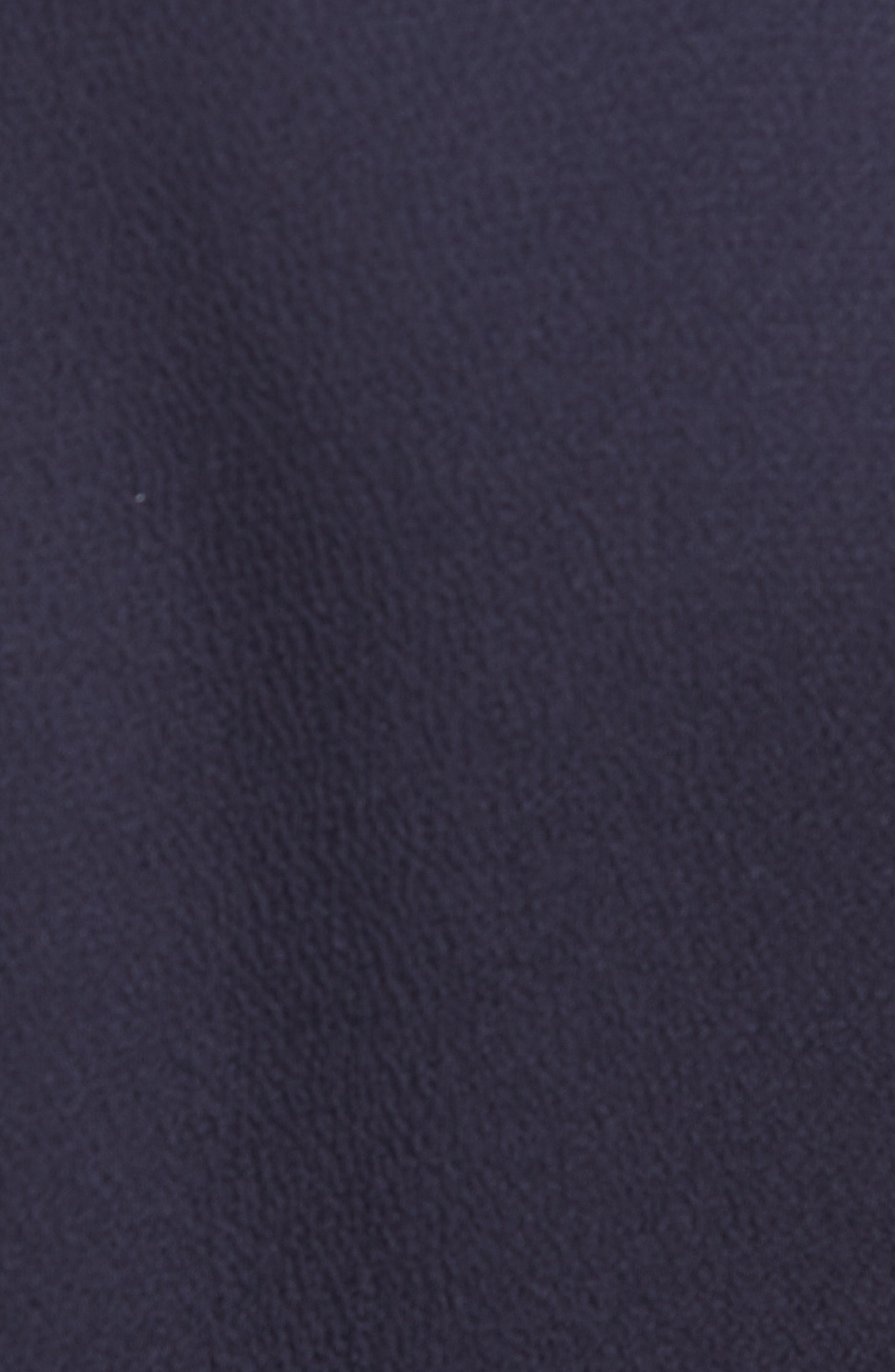 LAFAYETTE 148 NEW YORK, Ambrosia Tie Waist Midi Dress, Alternate thumbnail 6, color, INK