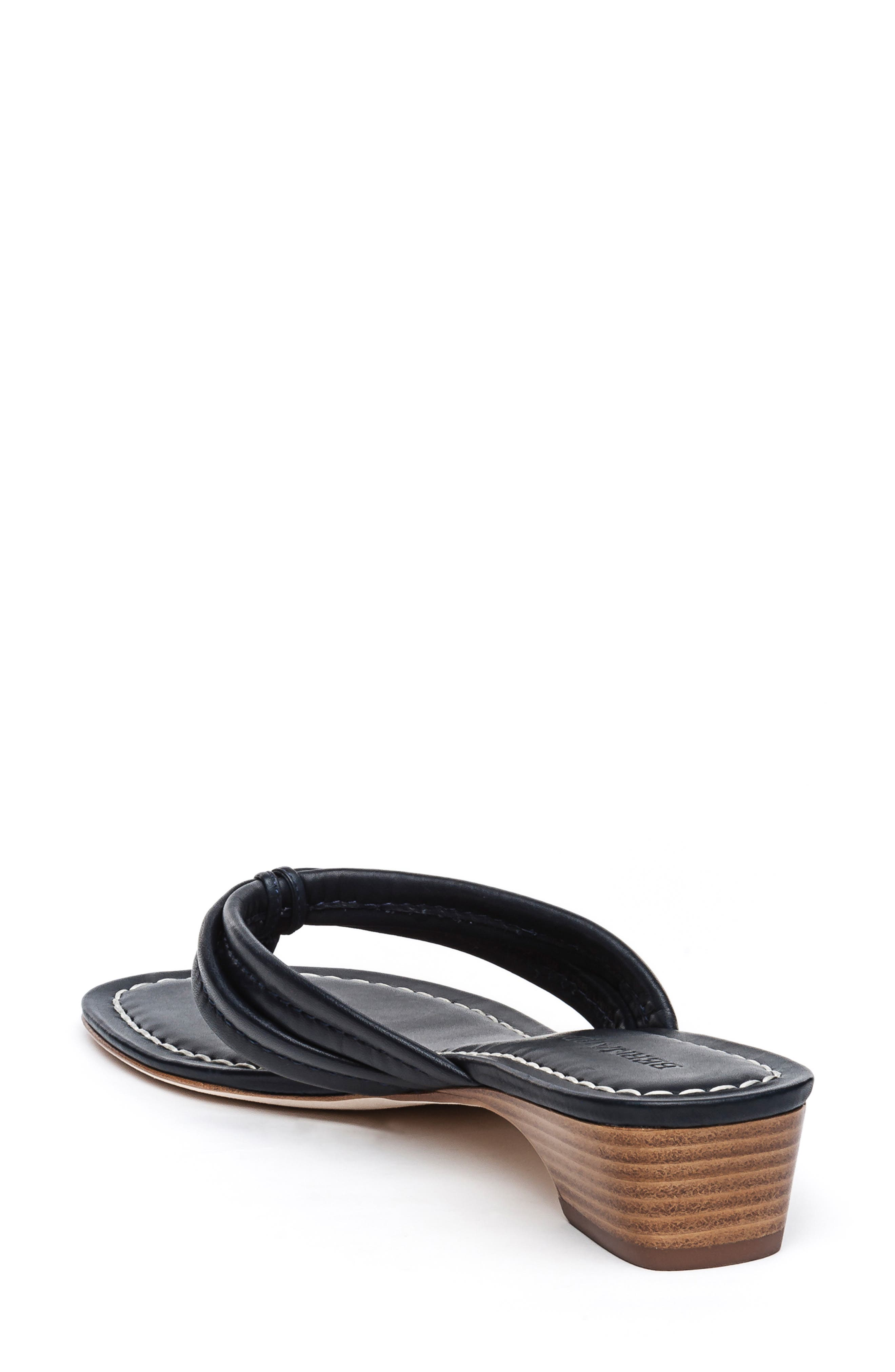 BERNARDO, Miami Sandal, Alternate thumbnail 2, color, BLACK ANTIQUE LEATHER