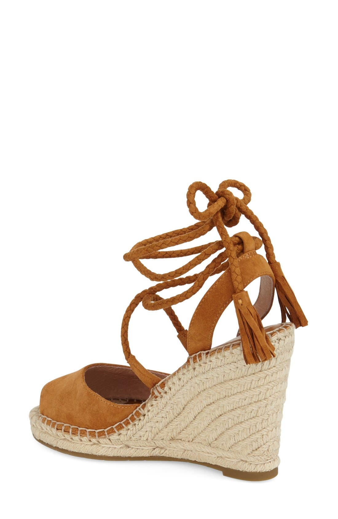 JOIE, 'Phyllis' Espadrille Wedge, Alternate thumbnail 3, color, 219