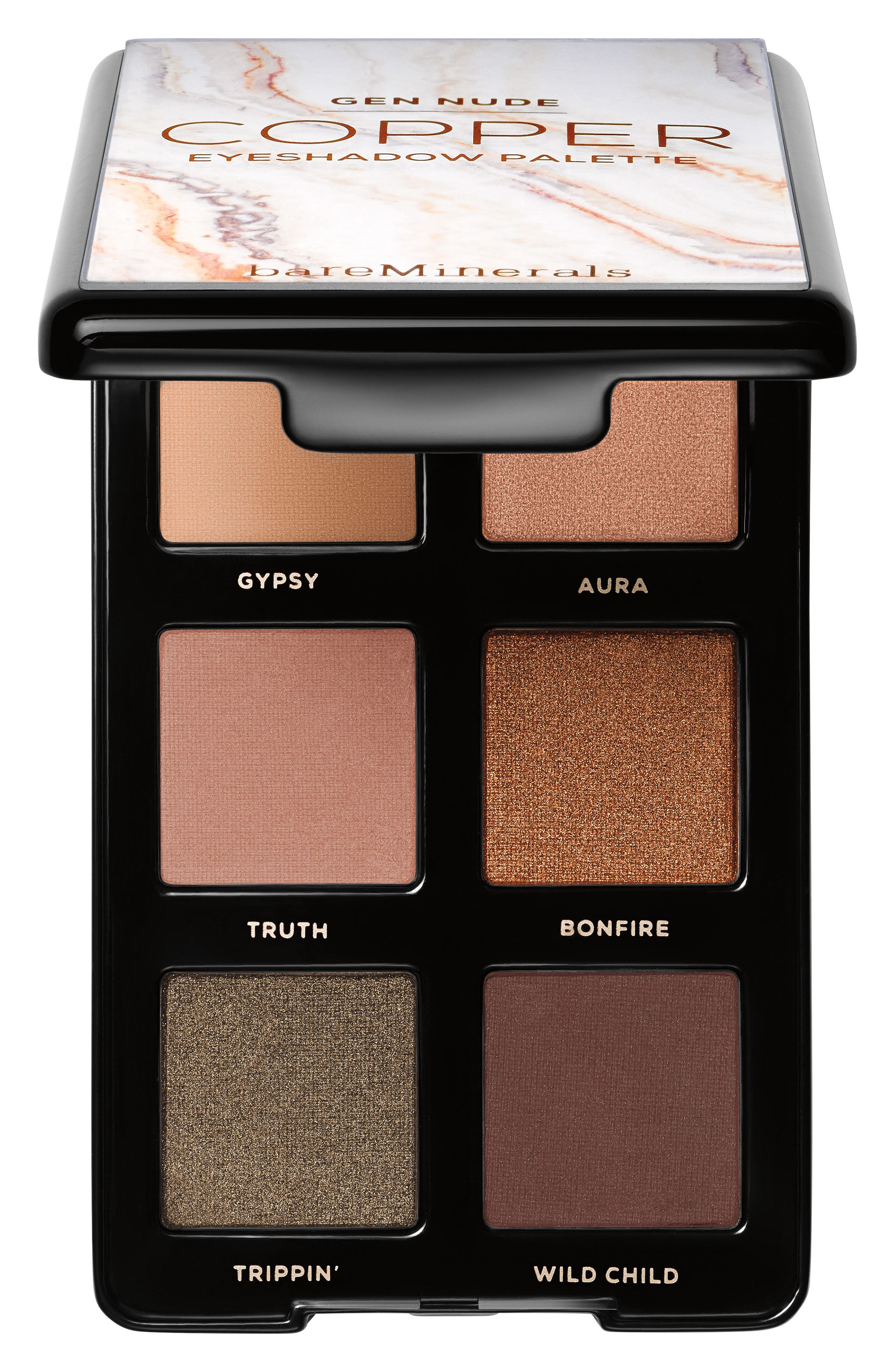 BAREMINERALS<SUP>®</SUP>, Gen Nude Eyeshadow Palette, Main thumbnail 1, color, COPPER