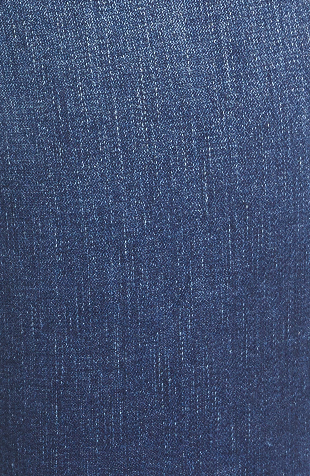 L'AGENCE, Margot Crop Skinny Jeans, Alternate thumbnail 6, color, TUSCAN