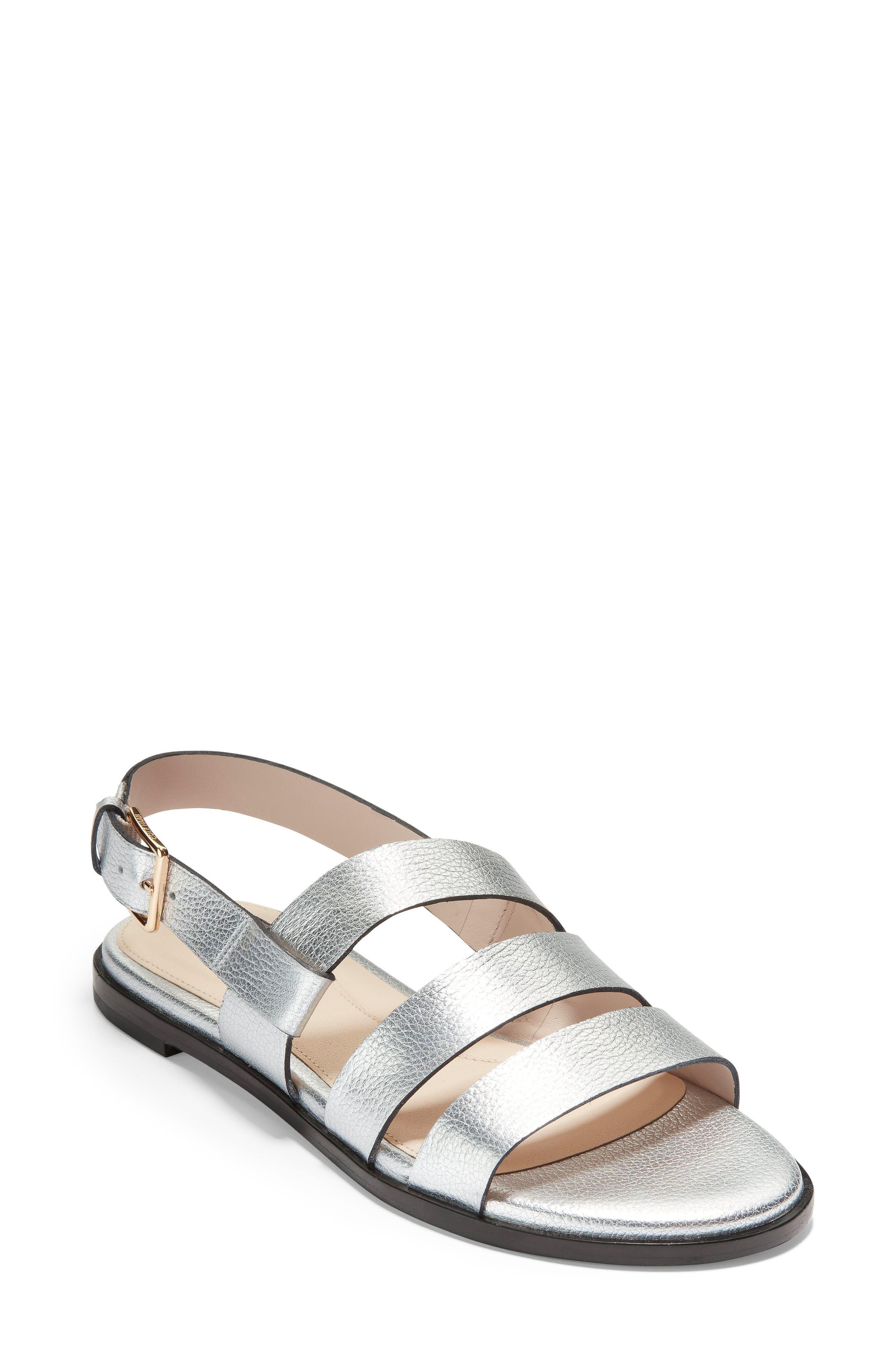 Cole Haan Anela Sandal, Metallic