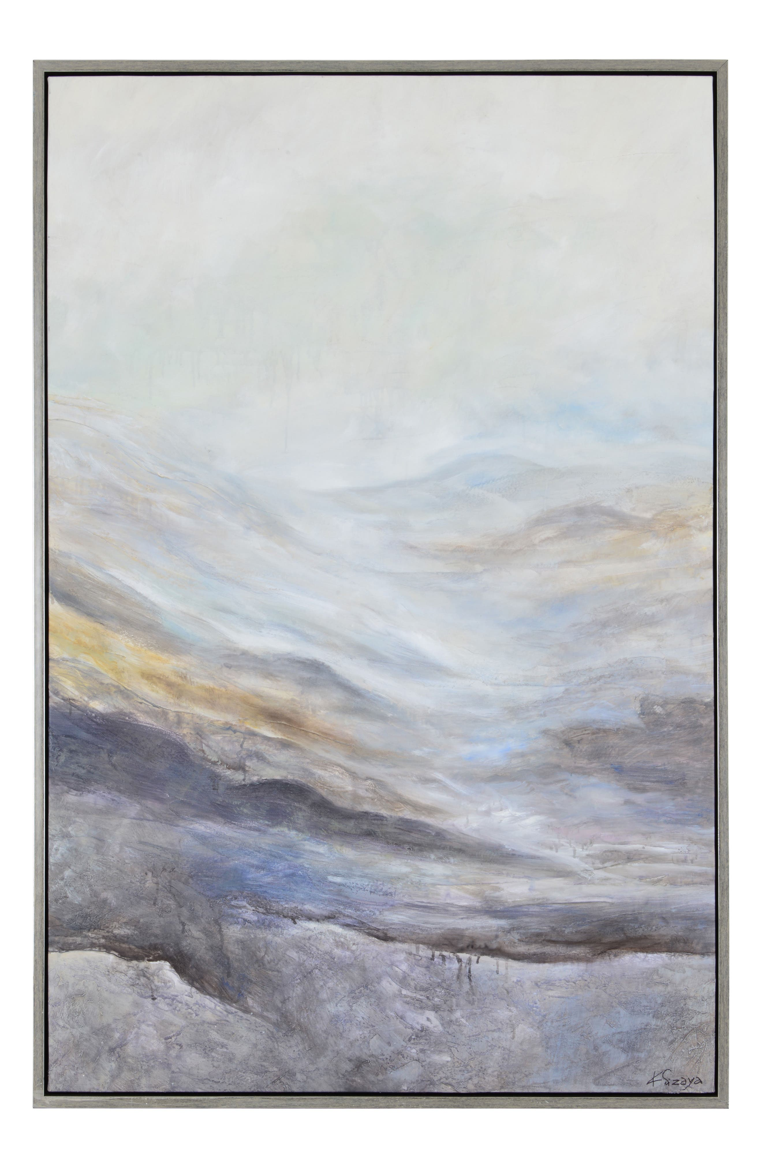 RENWIL, Bleaklow Canvas Wall Art, Main thumbnail 1, color, MULTICOLOR