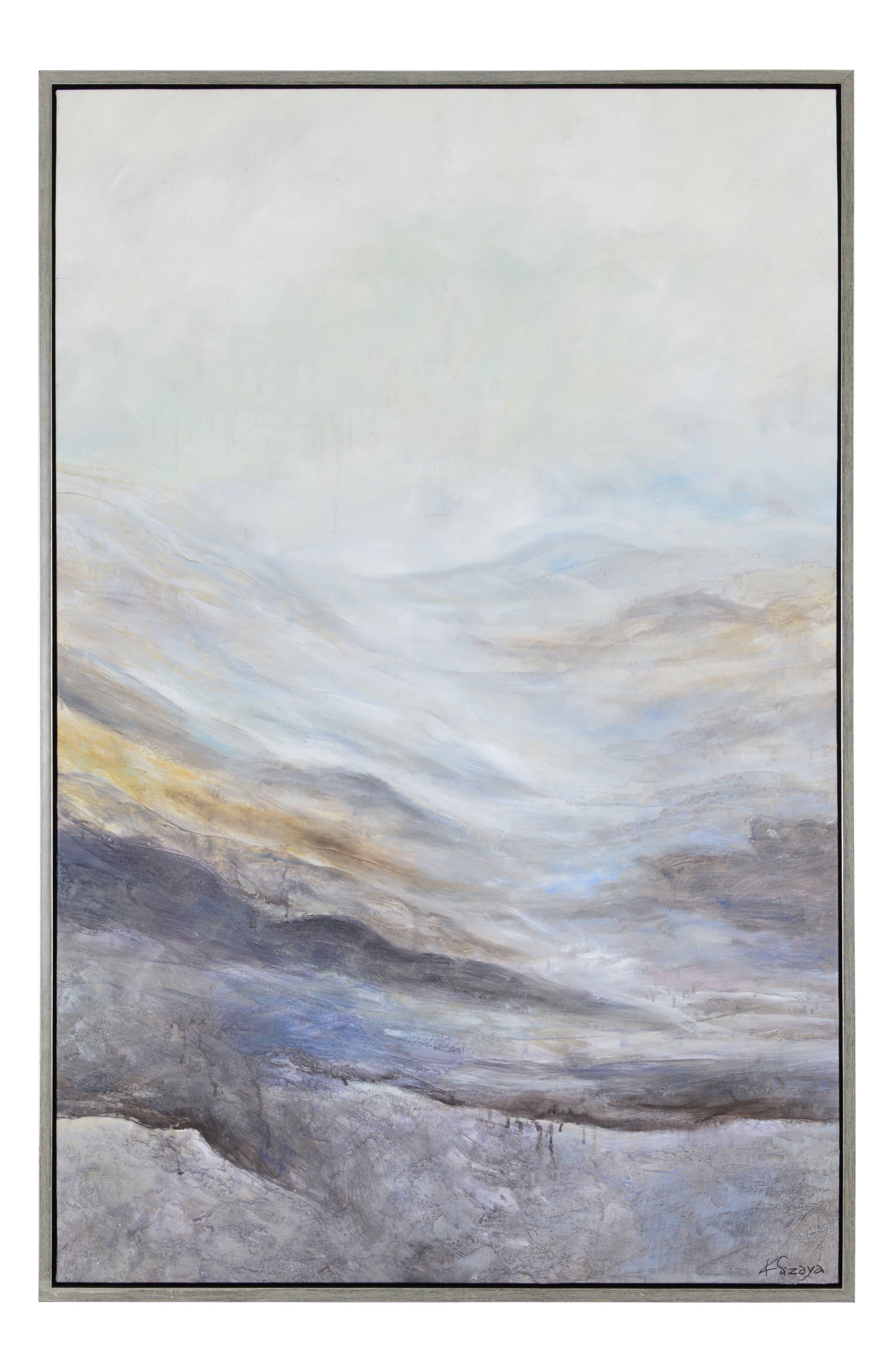 RENWIL Bleaklow Canvas Wall Art, Main, color, MULTICOLOR