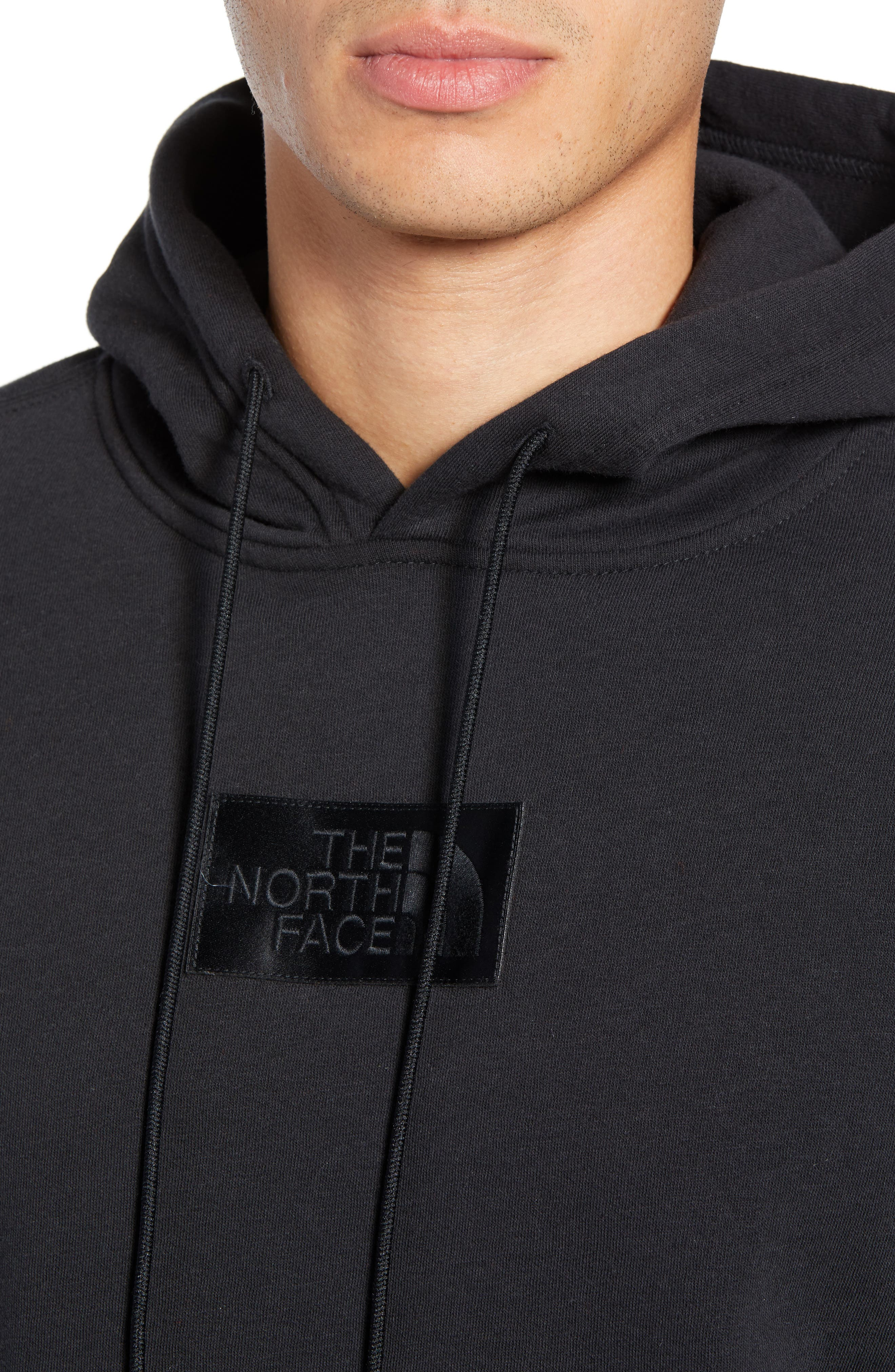 THE NORTH FACE, Urban Ex Collection Pullover Hoodie, Alternate thumbnail 4, color, TNF BLACK