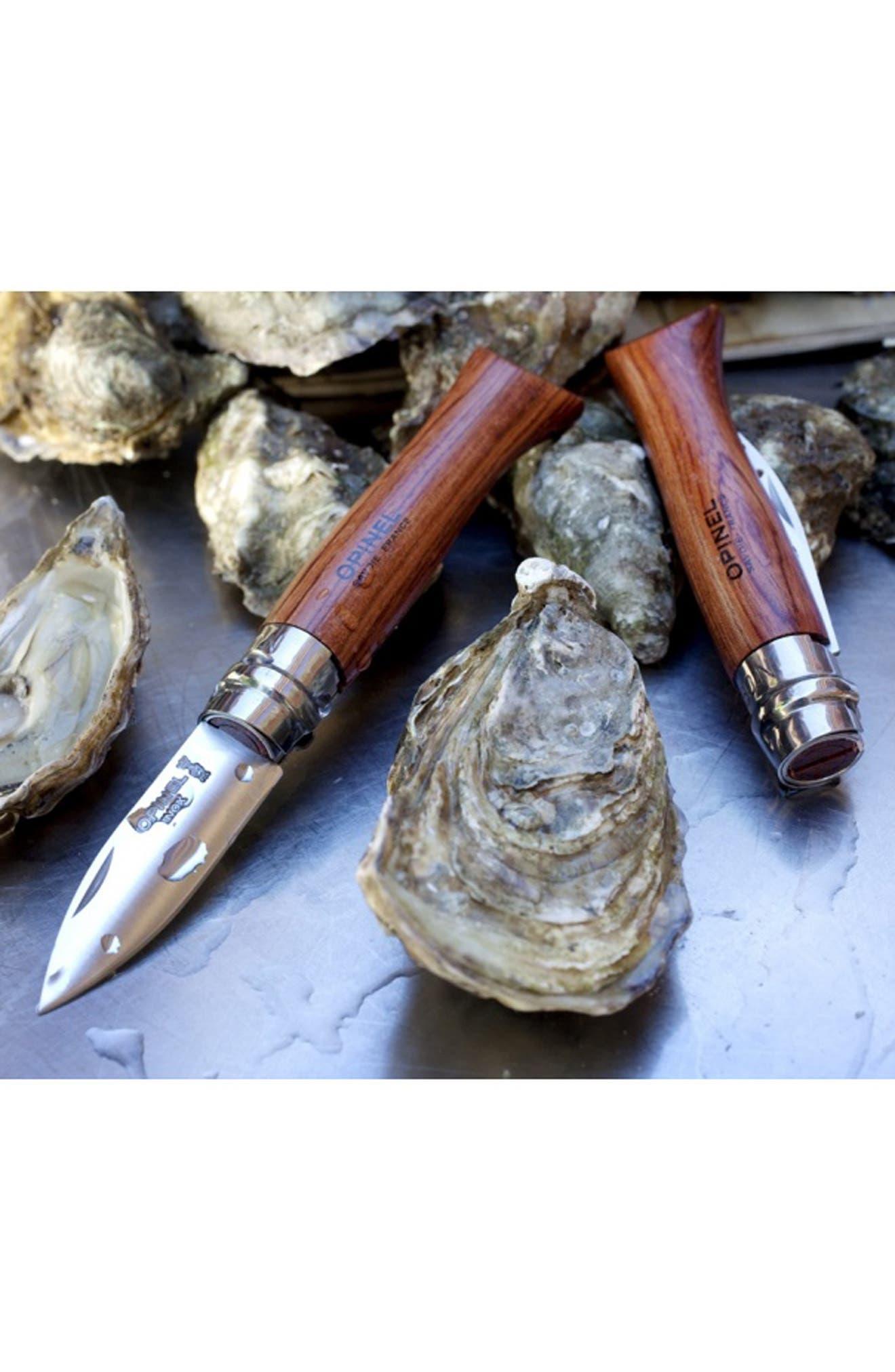 OPINEL, 'No. 9' Folding Shellfish Knife, Alternate thumbnail 4, color, 200