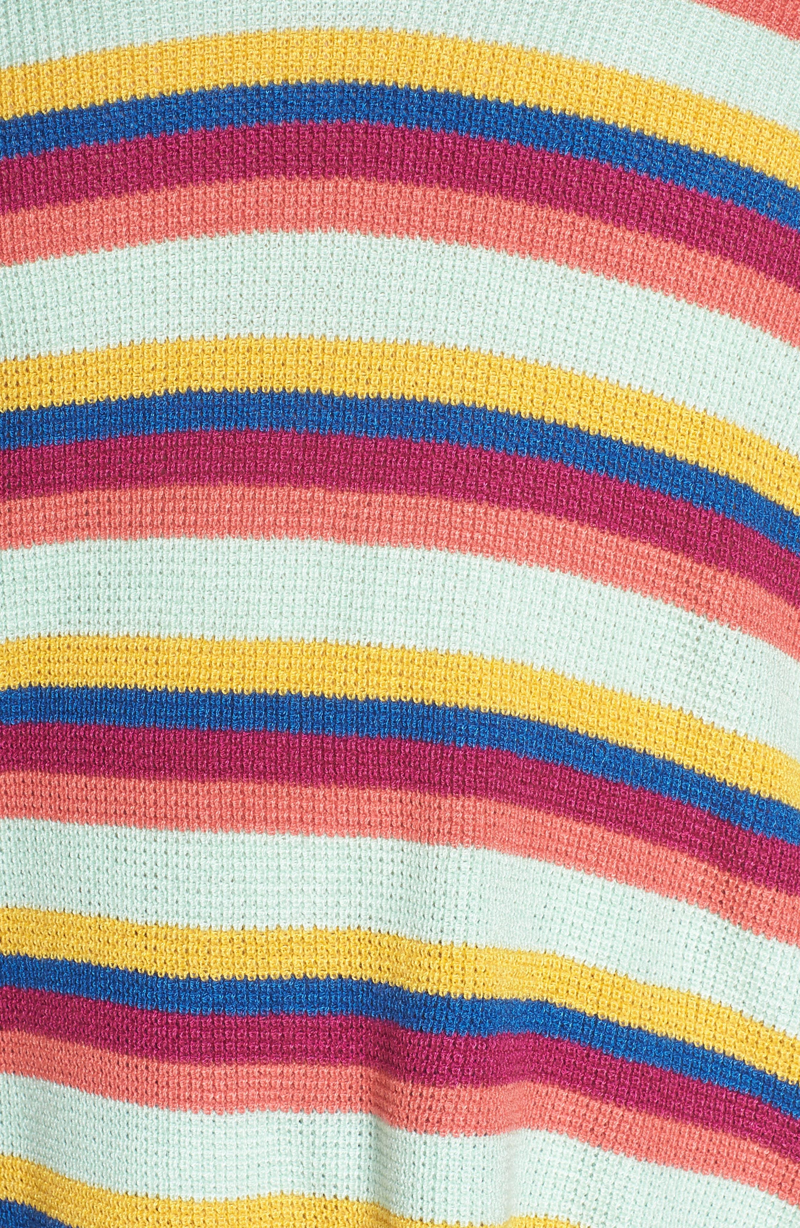 BP., Stripe Thermal Stitch Sweater, Alternate thumbnail 11, color, 660