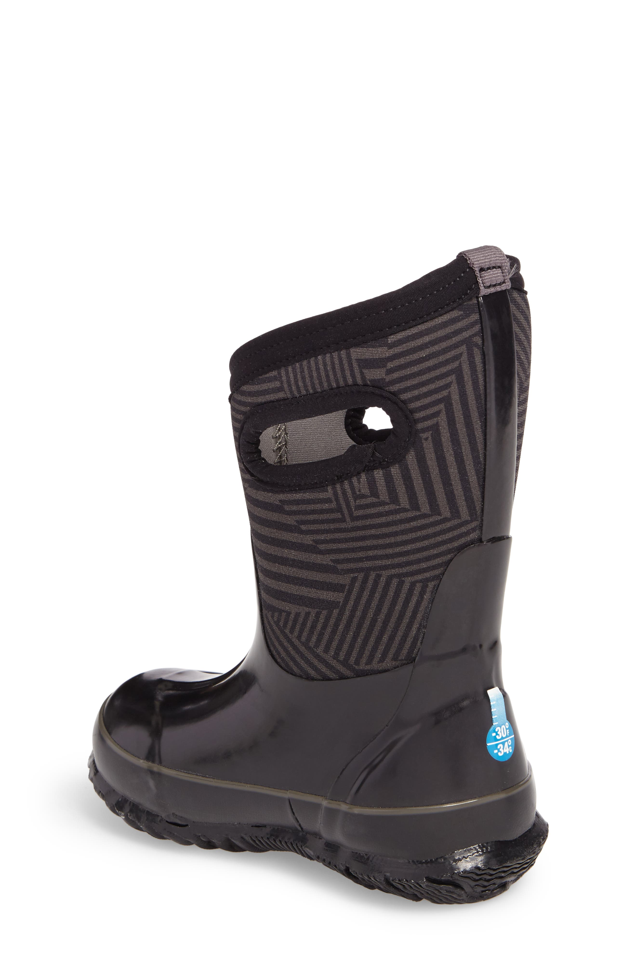 BOGS, Classic Phaser Insulated Waterproof Boot, Alternate thumbnail 2, color, BLACK MULTI