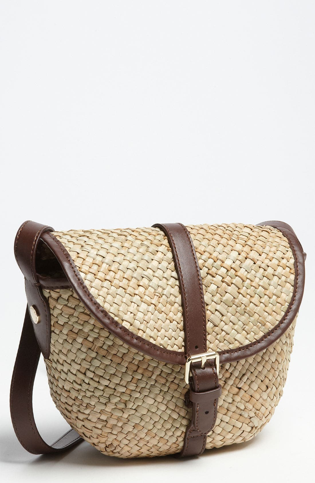 MARC BY MARC JACOBS, 'Preppy' Straw Canteen Bag, Main thumbnail 1, color, 247