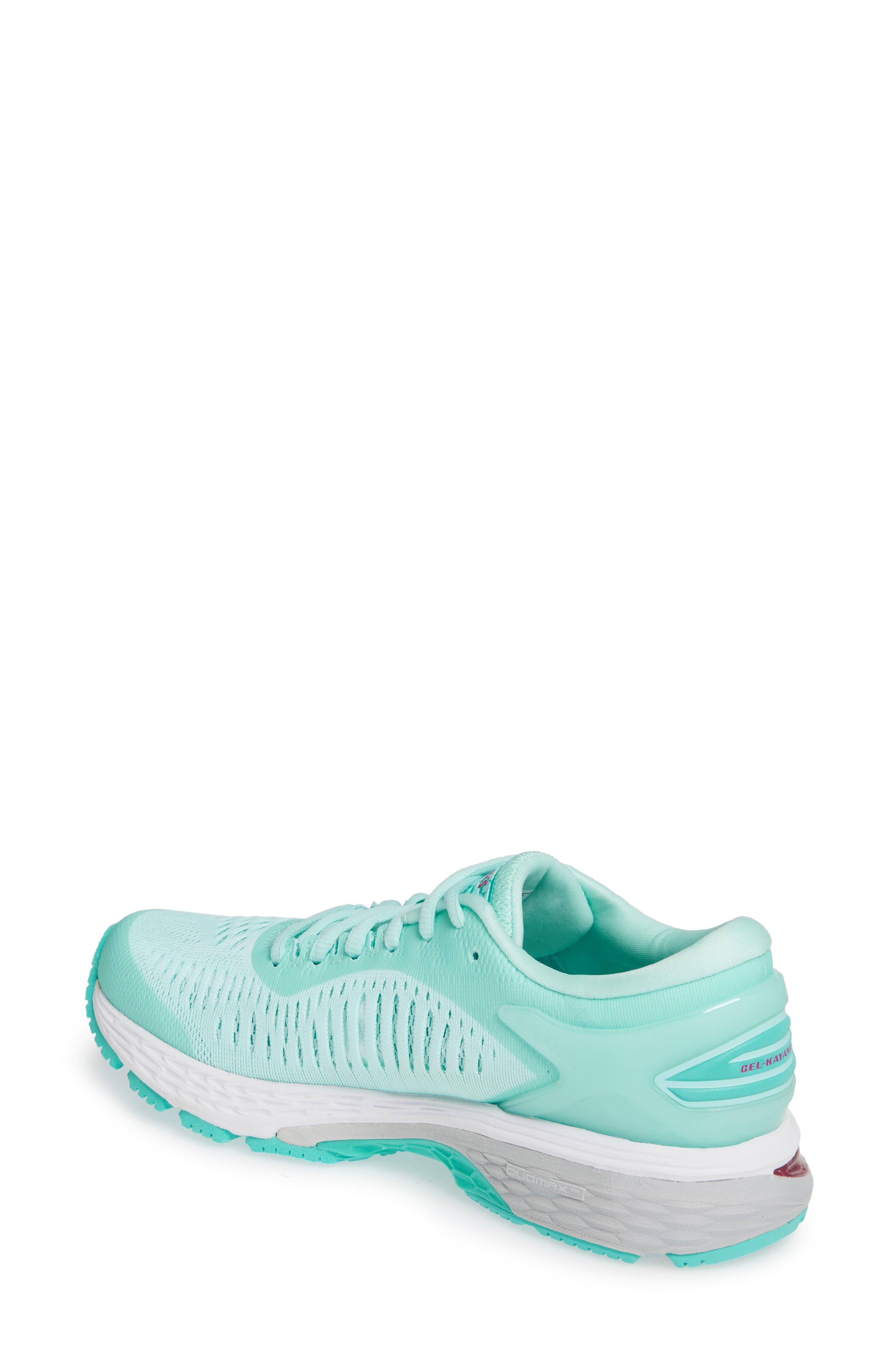 ASICS<SUP>®</SUP>, GEL-Kayano<sup>®</sup> 25 Running Shoe, Alternate thumbnail 2, color, ICY MORNING/ SEA GLASS