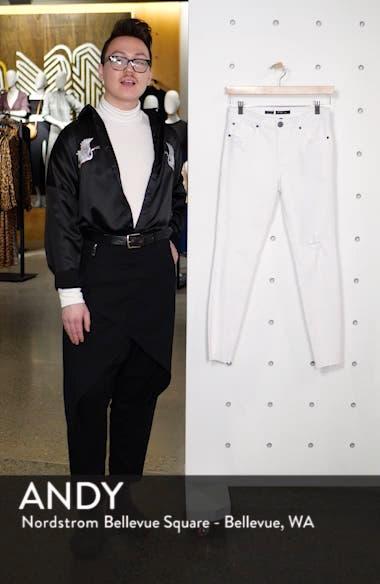 Emma Cutoff Hem Crop Skinny Jeans, sales video thumbnail