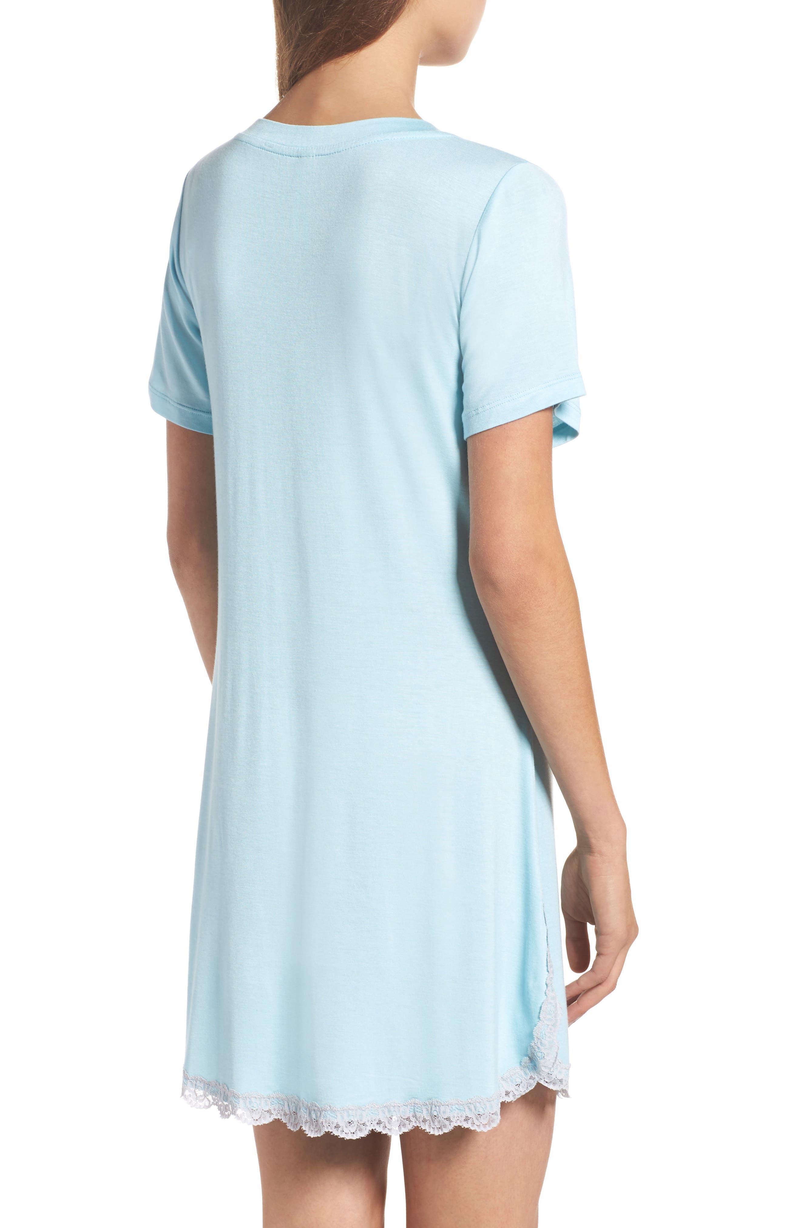 HONEYDEW INTIMATES, 'All American' Sleep Shirt, Alternate thumbnail 2, color, I DO