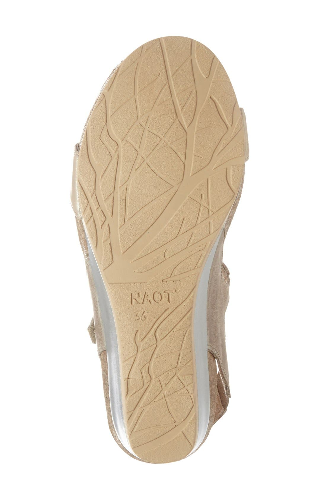 NAOT, 'Unicorn' T-Strap Sandal, Alternate thumbnail 3, color, 250