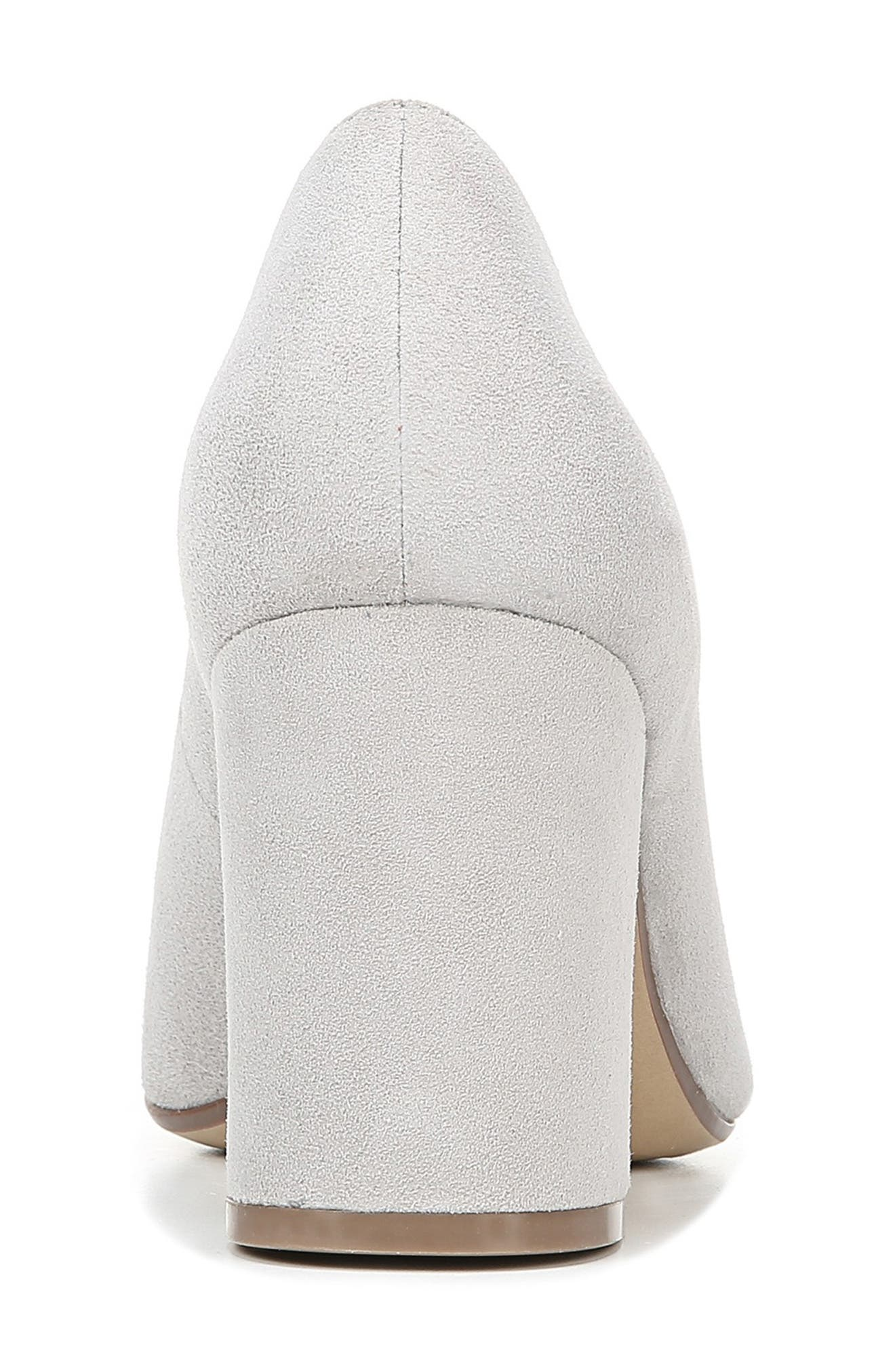 NATURALIZER, Hope Pointy Toe Pump, Alternate thumbnail 7, color, ICY GREY SUEDE