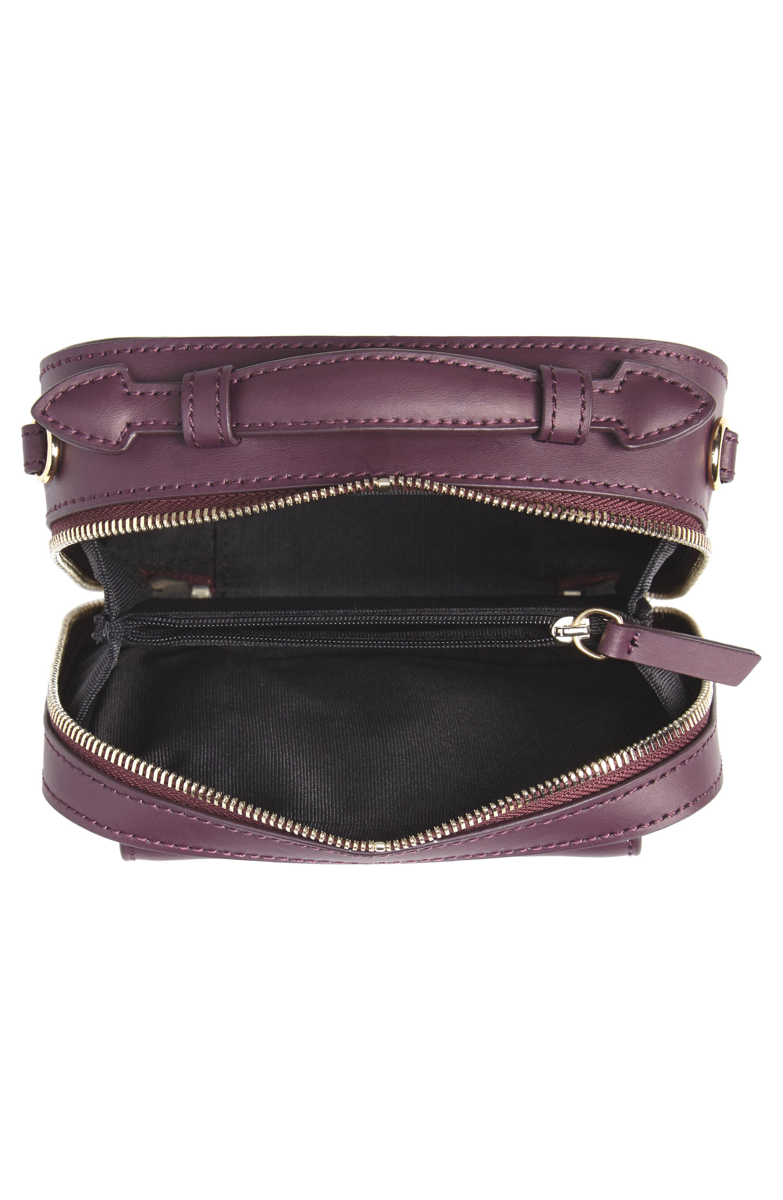 ZAC ZAC POSEN, Earthette Small Box Leather Crossbody Bag, Alternate thumbnail 4, color, 501