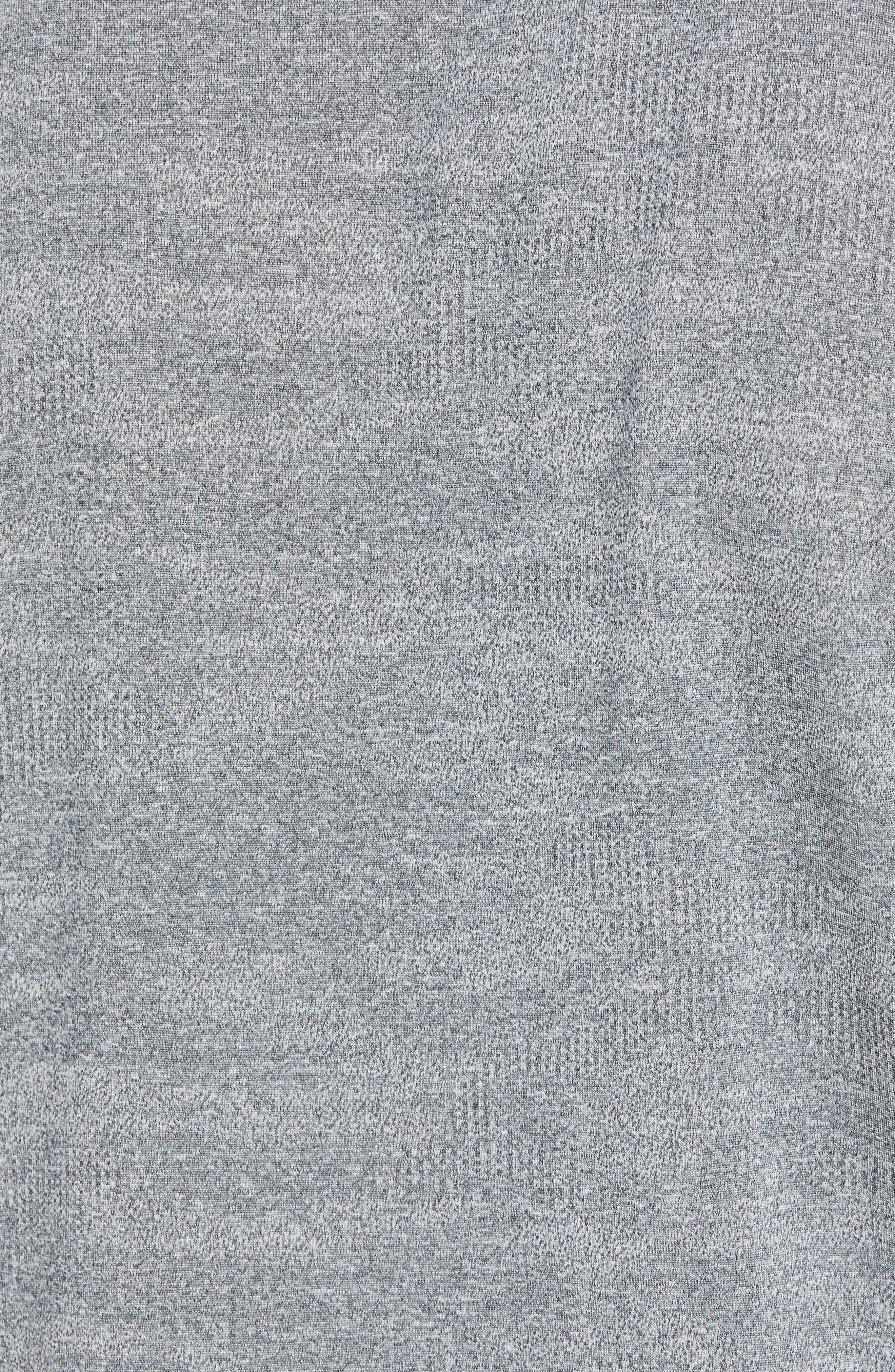 DEVEREUX, Monaco Regular Fit Polo, Alternate thumbnail 5, color, STEEL