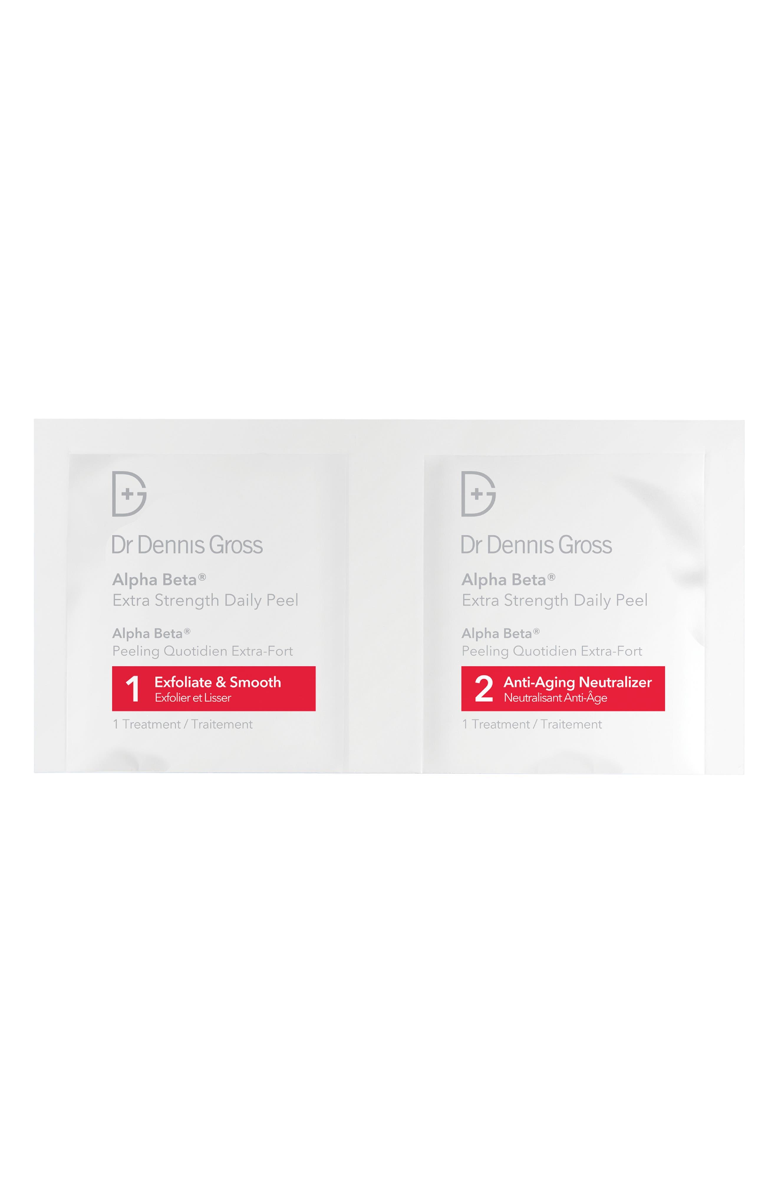 DR. DENNIS GROSS SKINCARE, Alpha Beta<sup>®</sup> Peel Extra Strength Formula - 30 Applications, Alternate thumbnail 2, color, NO COLOR