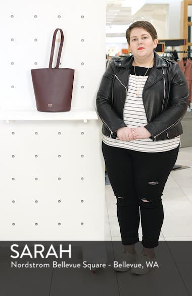 Dome Leather Bucket Bag, sales video thumbnail