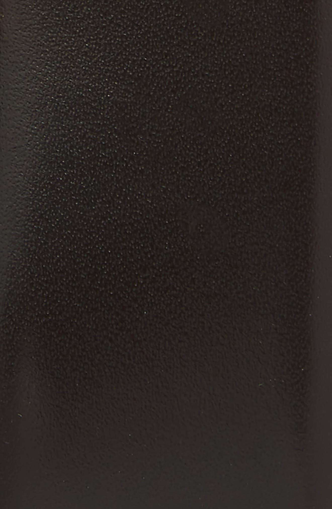 SALVATORE FERRAGAMO, Panini Double Gancio Leather Belt, Alternate thumbnail 2, color, MORO