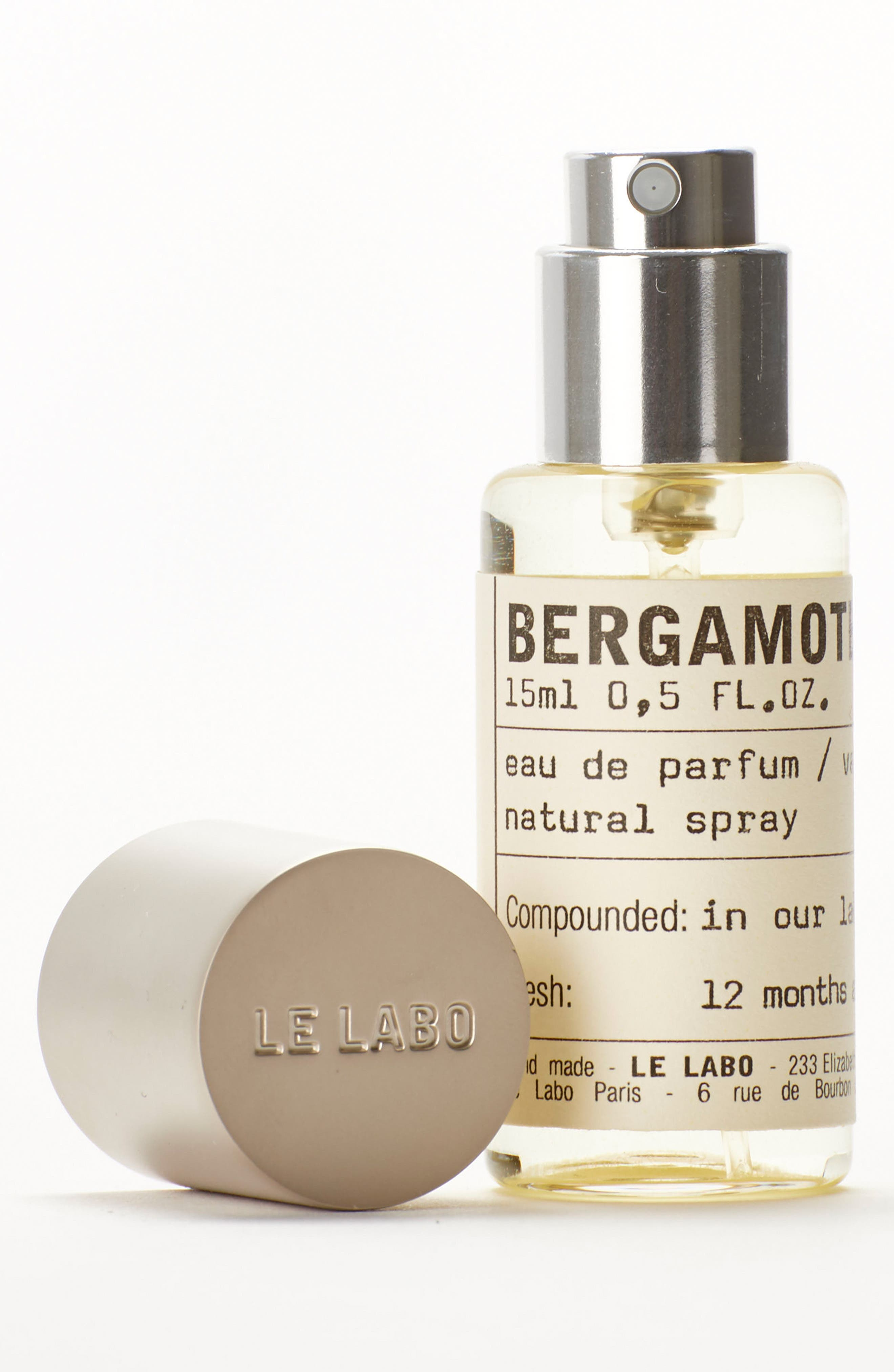 LE LABO, 'Bergamote 22' Eau de Parfum, Alternate thumbnail 4, color, NO COLOR