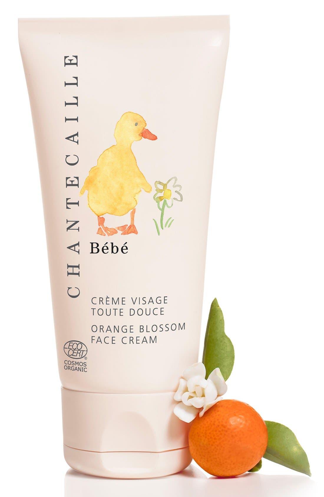 CHANTECAILLE, Bébé Orange Blossom Face Cream, Alternate thumbnail 2, color, NO COLOR