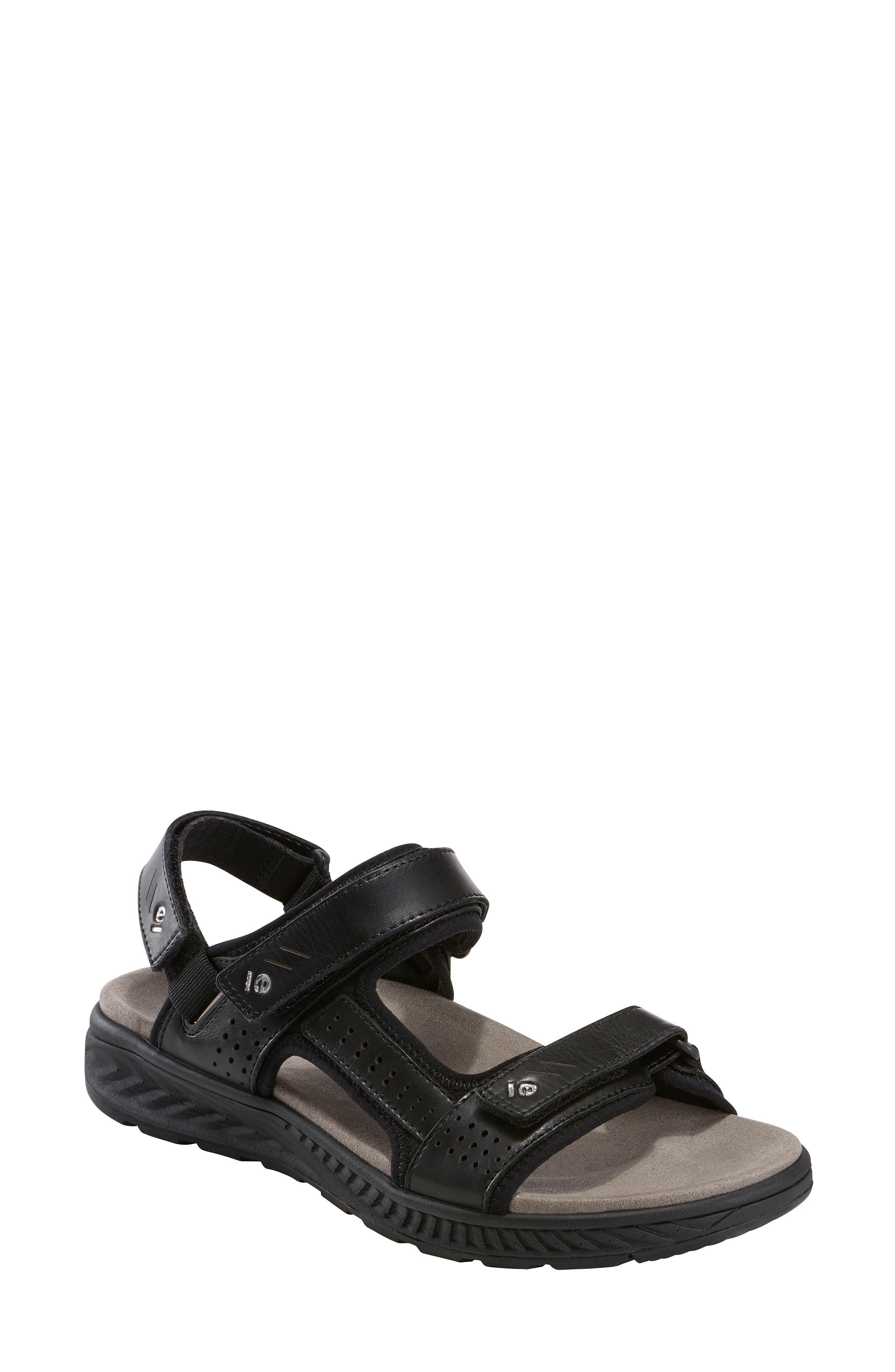 Earth Azore Sandal- Black