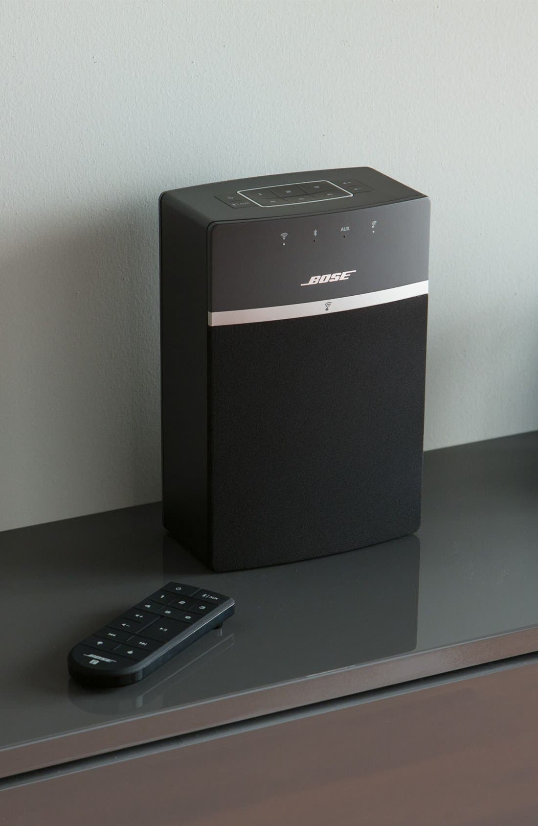 BOSE<SUP>®</SUP>, SoundTouch<sup>®</sup> 10 Wireless Music System, Alternate thumbnail 6, color, BLACK