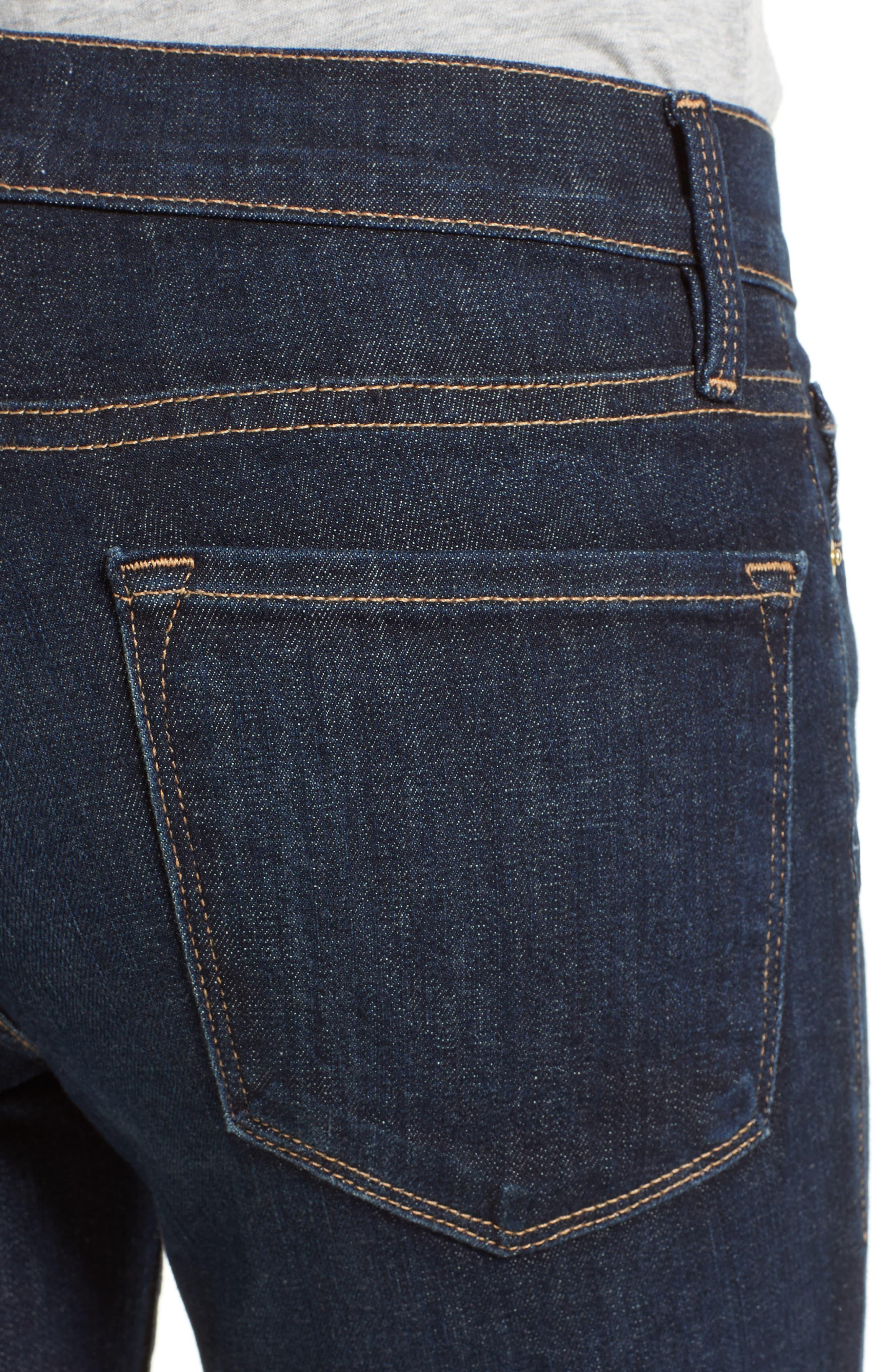 FRAME, Le Skinny de Jeanne Jeans, Alternate thumbnail 5, color, QUEENSWAY