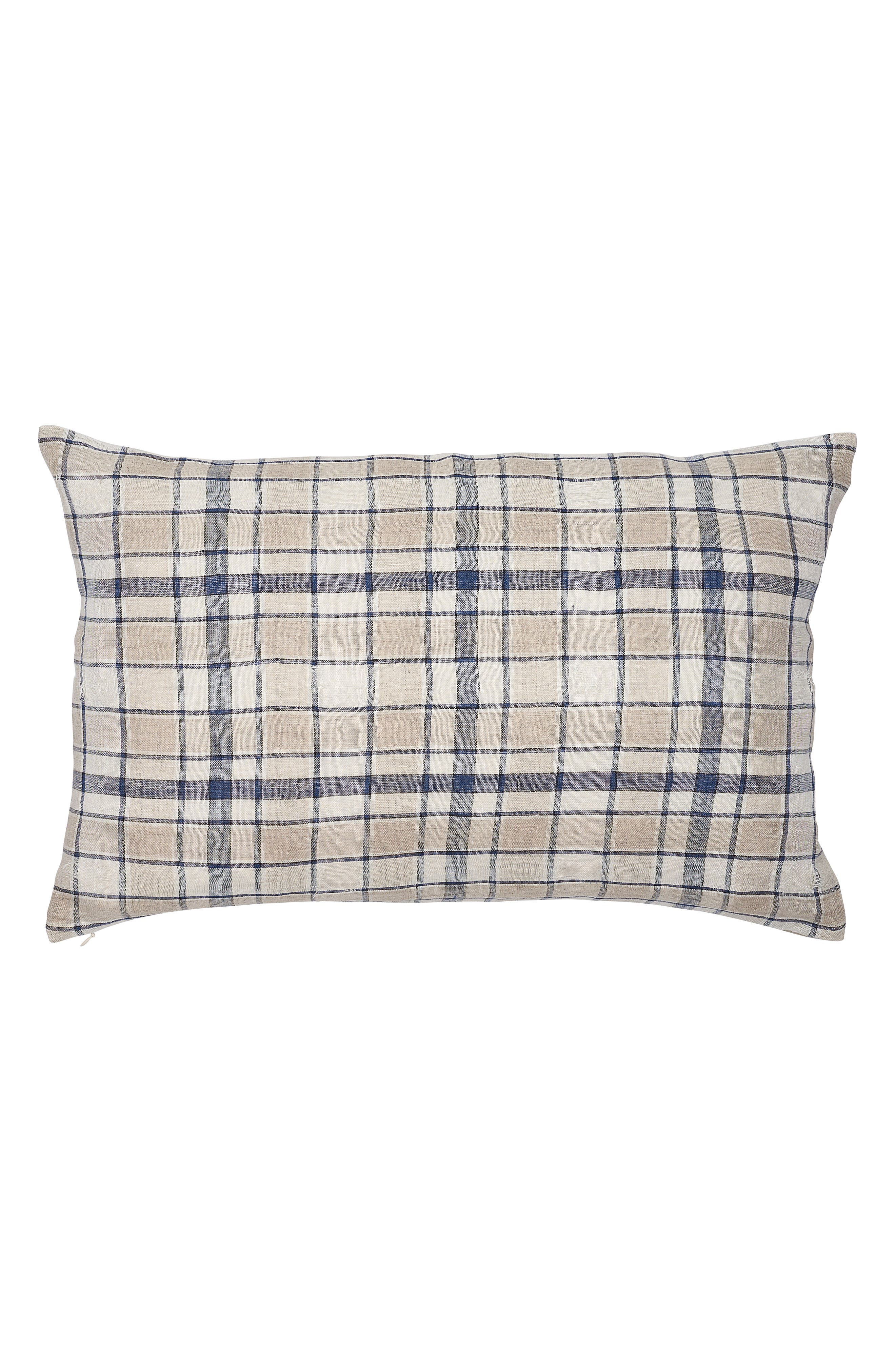 EADIE LIFESTYLE, Caddy Scatter Accent Pillow, Main thumbnail 1, color, NAVY MULTI