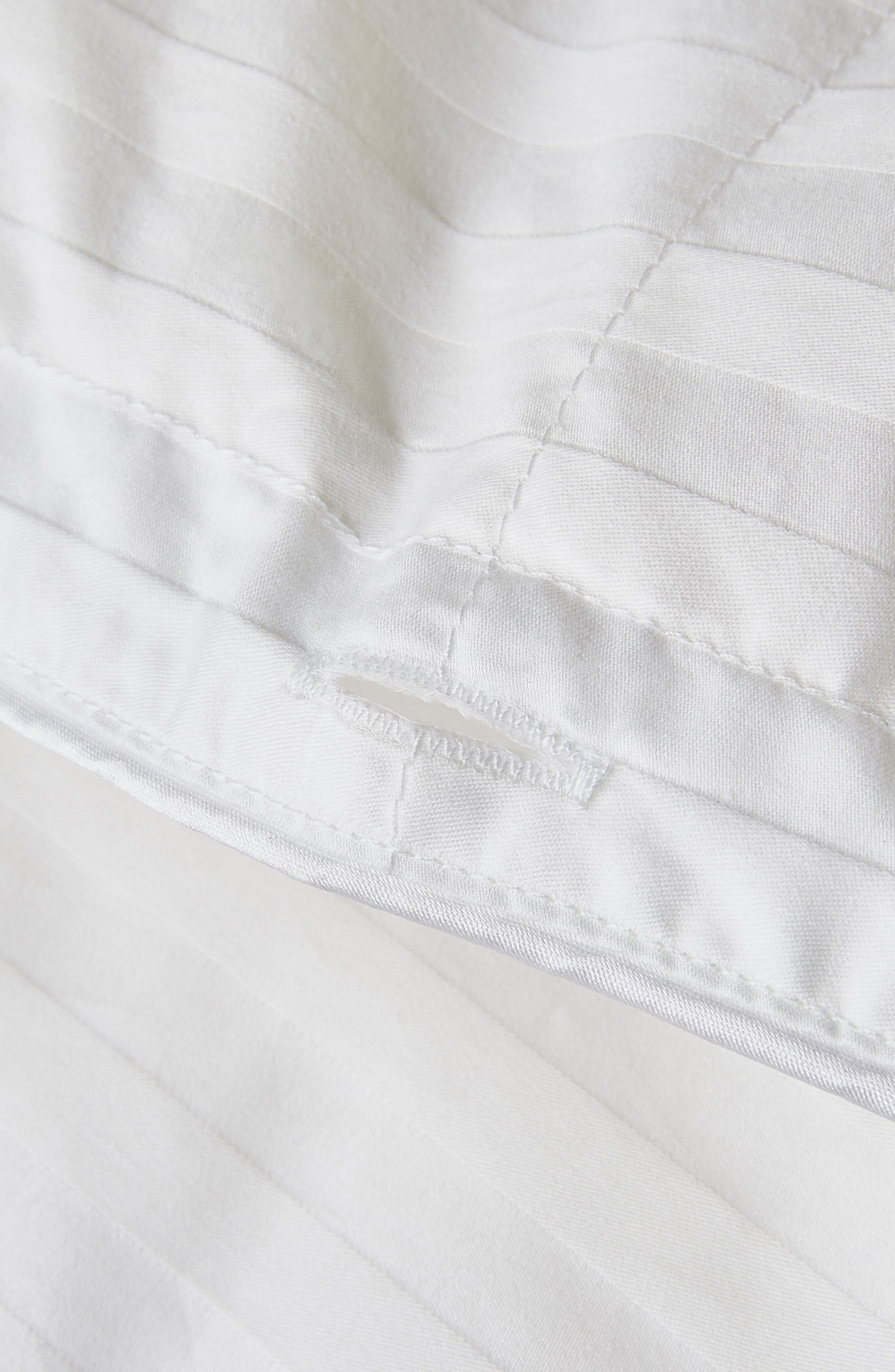THE WHITE COMPANY, Light Warmth Hungarian Goose Down Comforter, Alternate thumbnail 2, color, IVORY