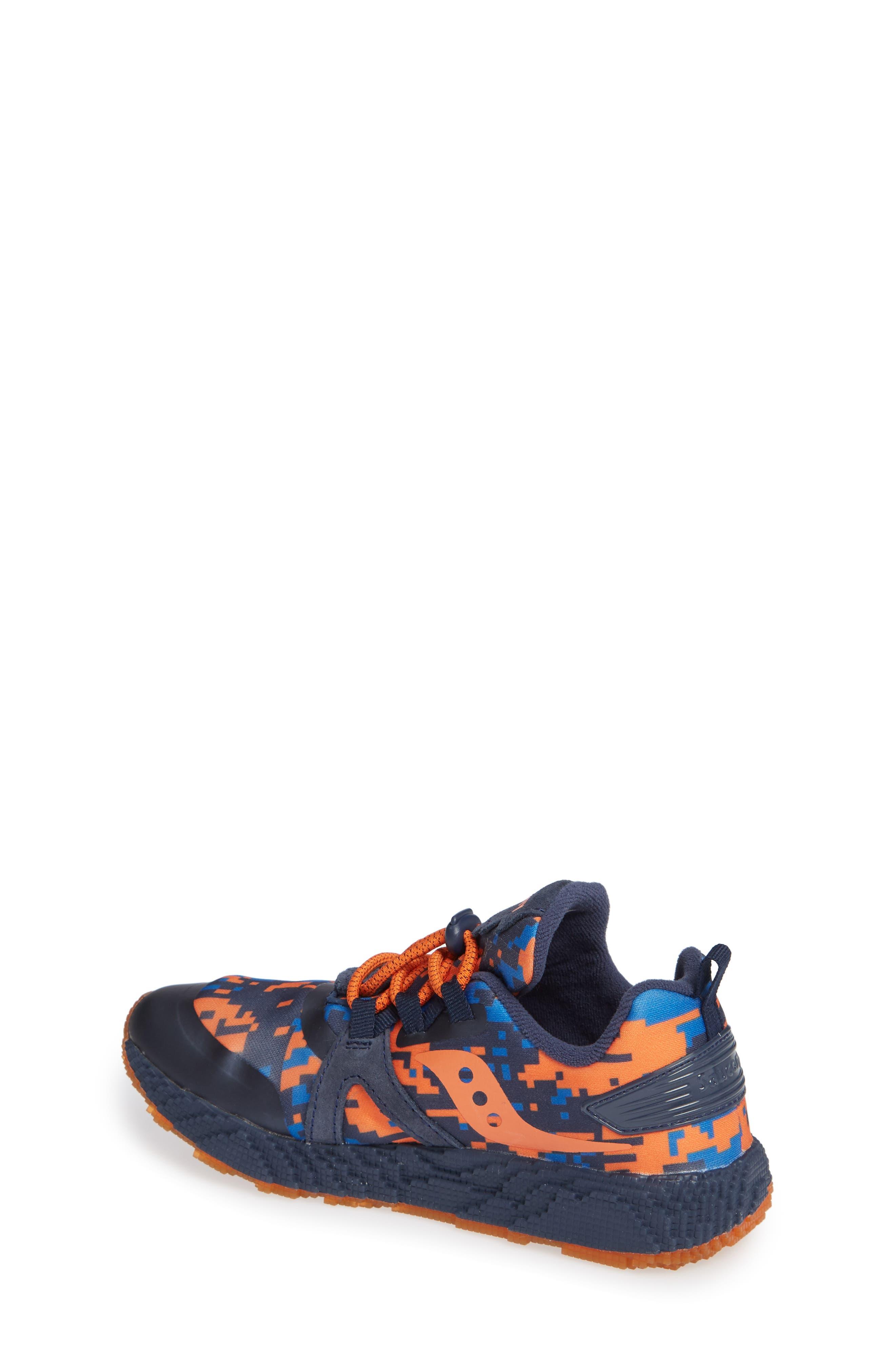 SAUCONY, Voxel 9000 Sneaker, Alternate thumbnail 2, color, BLUE LEATHER/ MESH