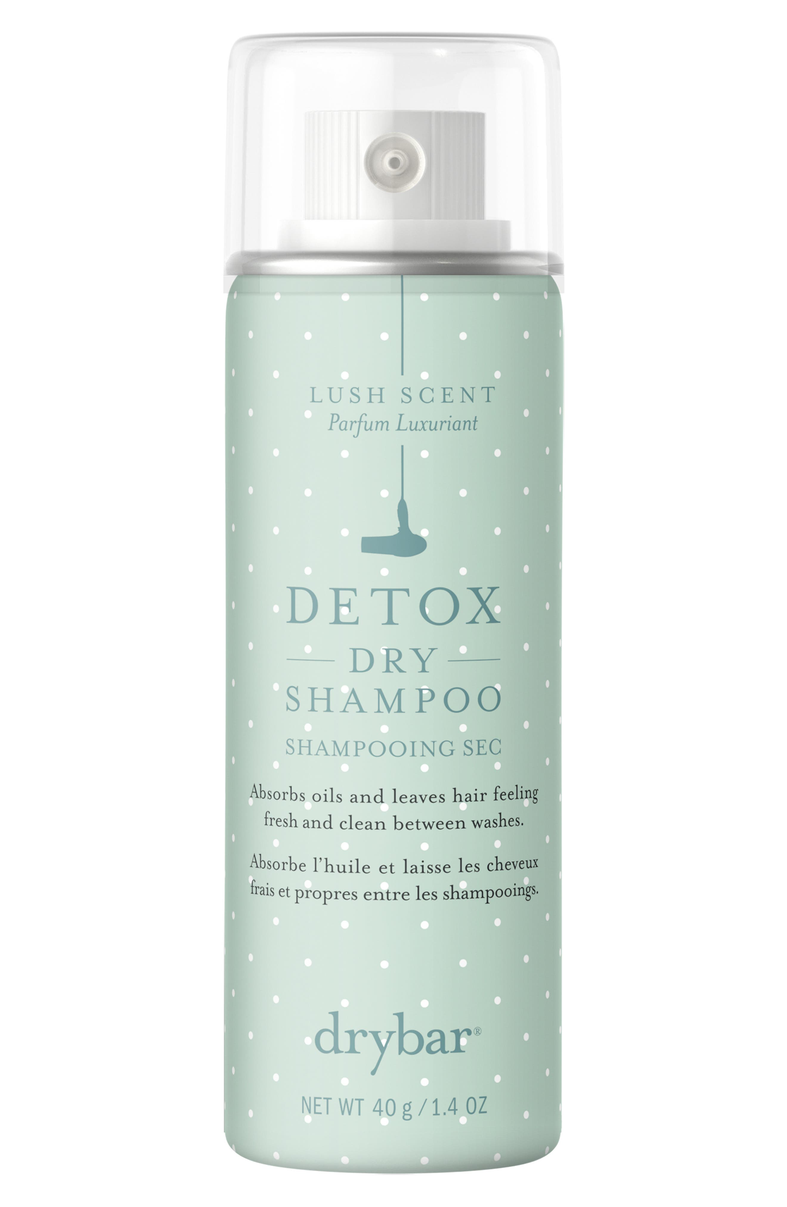 DRYBAR, Detox Scented Dry Shampoo, Alternate thumbnail 3, color, NO COLOR