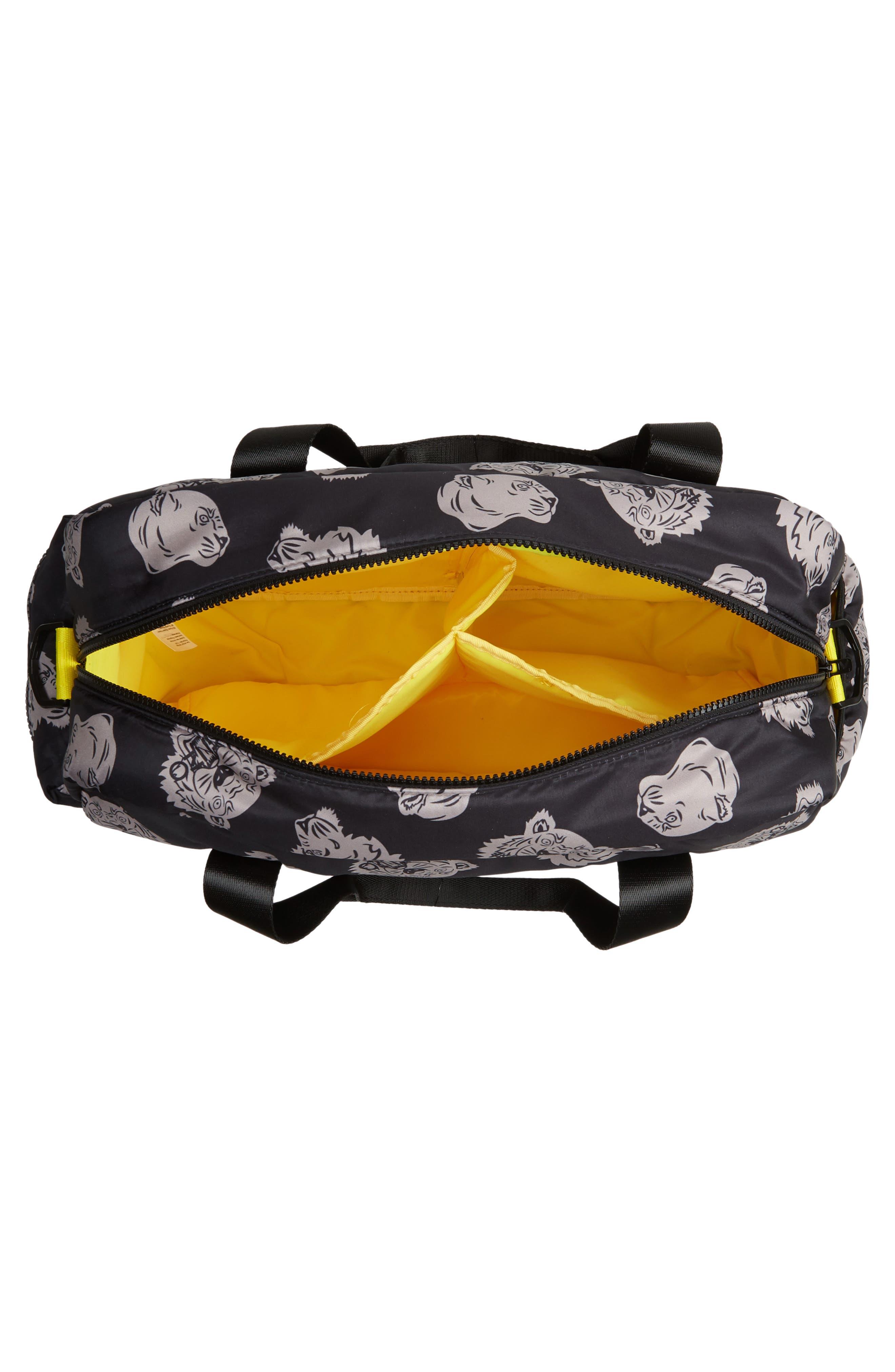 KENZO, Diaper Bag, Alternate thumbnail 4, color, 020