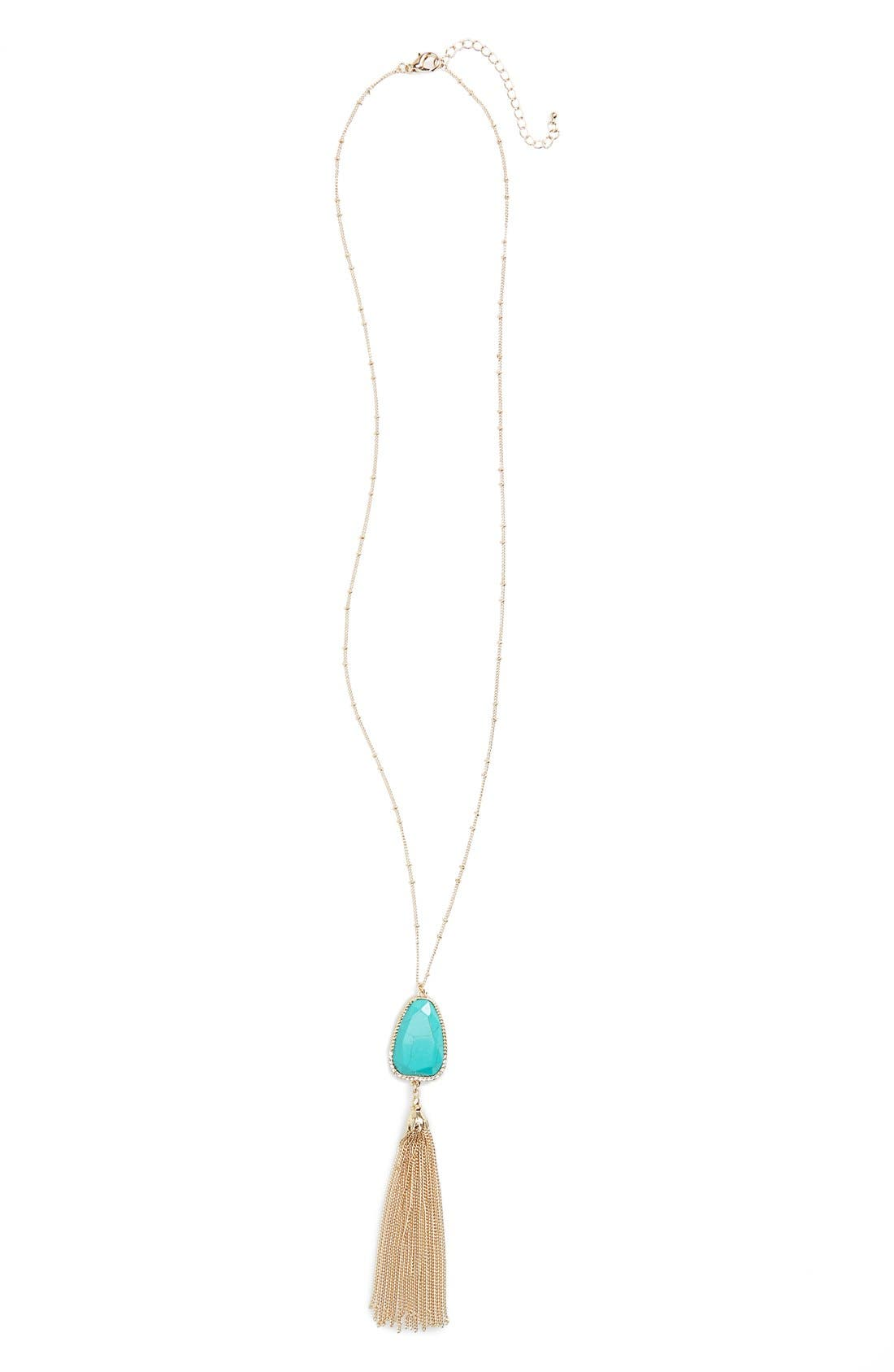 BP. Mother of Pearl Pendant Necklace, Main, color, 440
