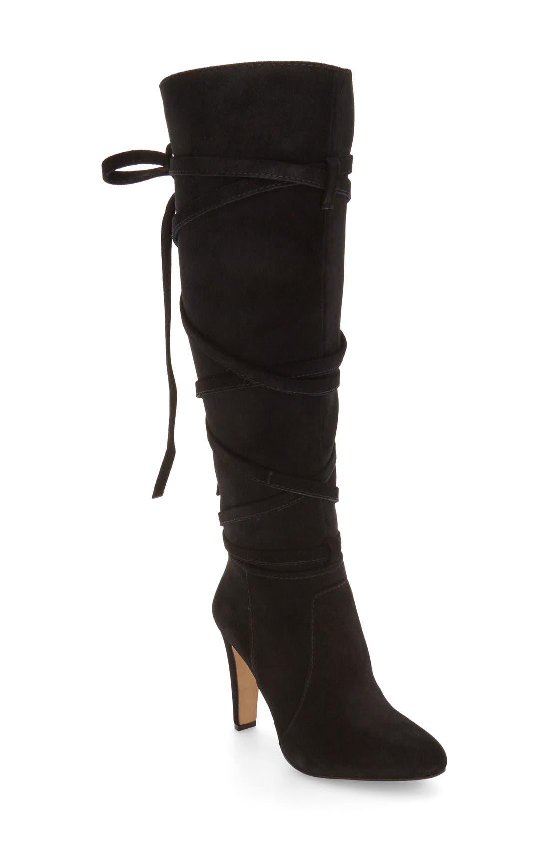 VINCE CAMUTO, 'Millay' Knee High Boot, Main thumbnail 1, color, 002