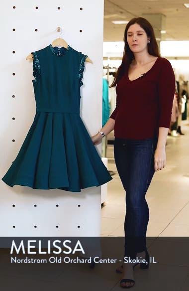 Mac Duggal Embellished Ruffle Fit & Flare Dress, sales video thumbnail