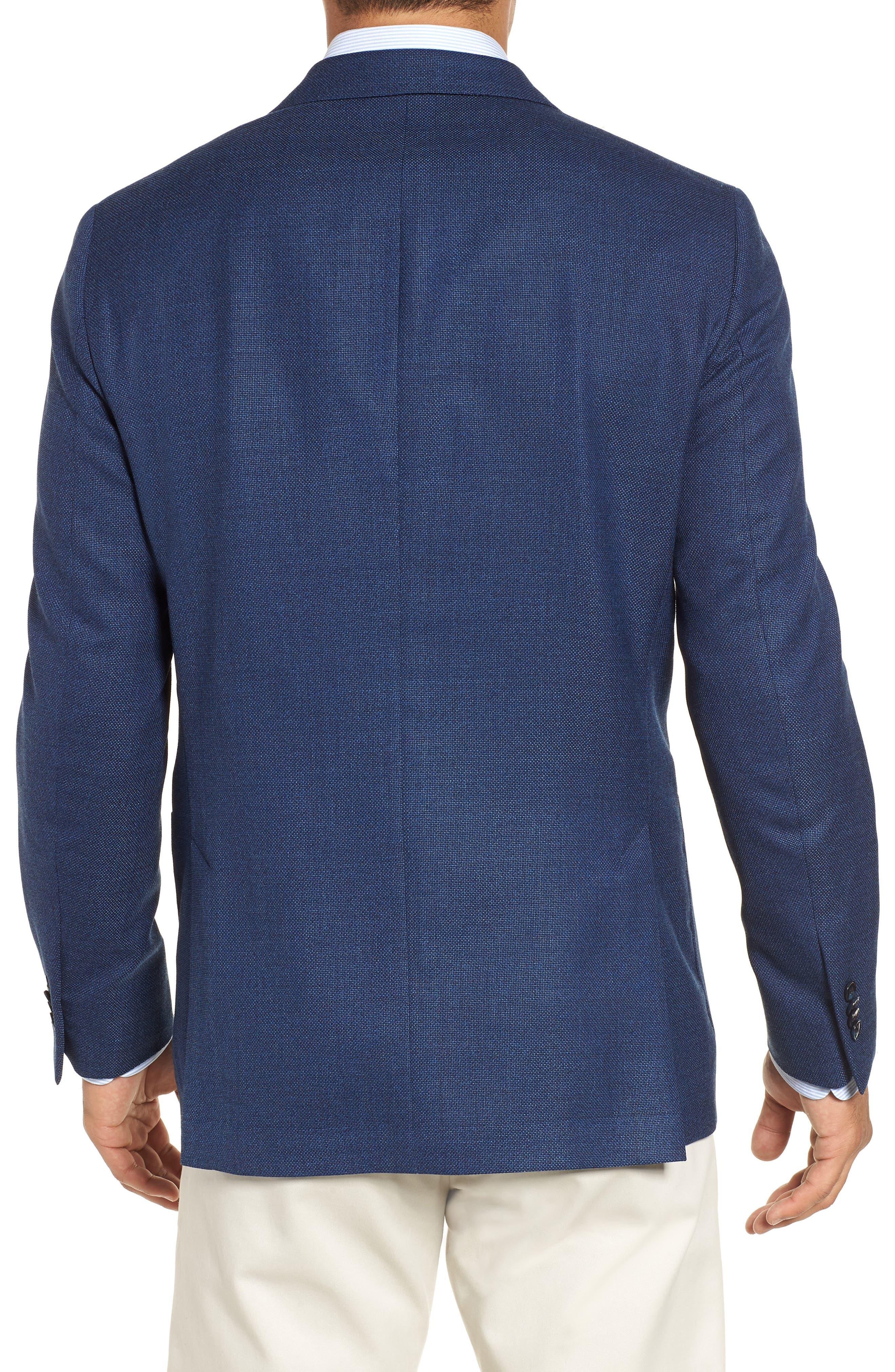 PETER MILLAR, Hyperlight Classic Fit Wool Sport Coat, Alternate thumbnail 2, color, 400