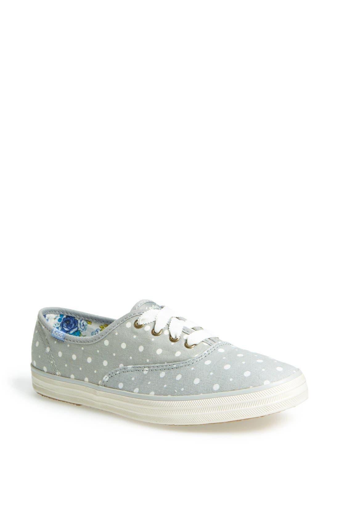 KEDS<SUP>®</SUP> Taylor Swift Polka Dot Sneaker, Main, color, 020