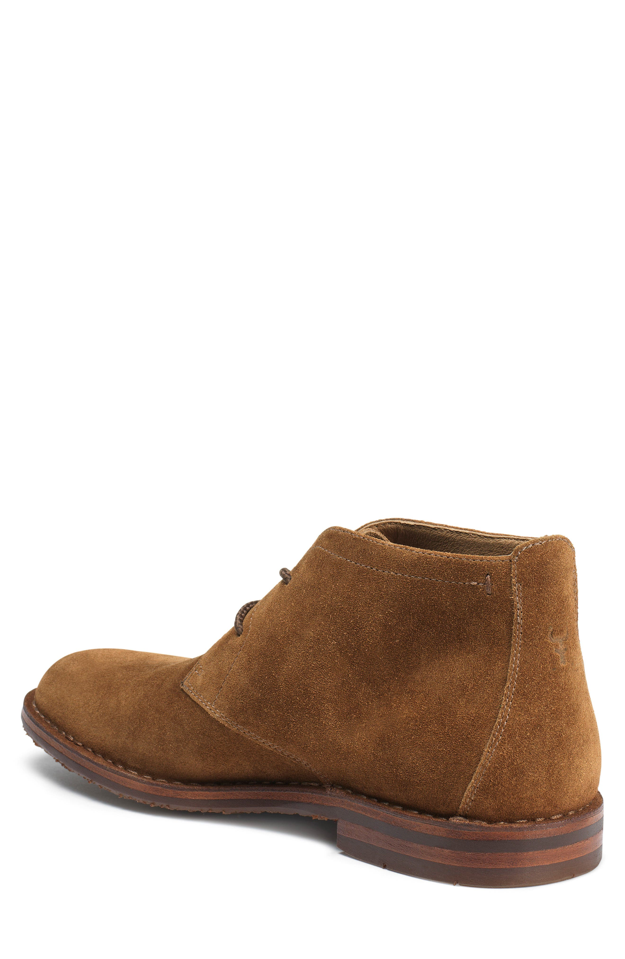TRASK, 'Brady' Chukka Boot, Alternate thumbnail 2, color, SNUFF SUEDE