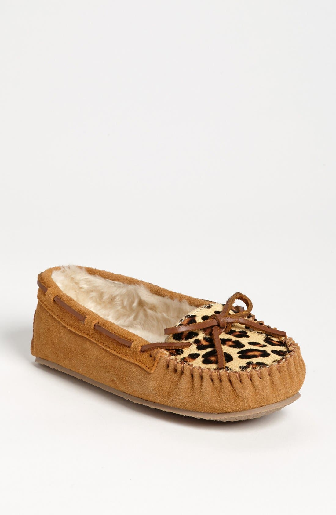 MINNETONKA 'Cally' Slipper, Main, color, CINNAMON