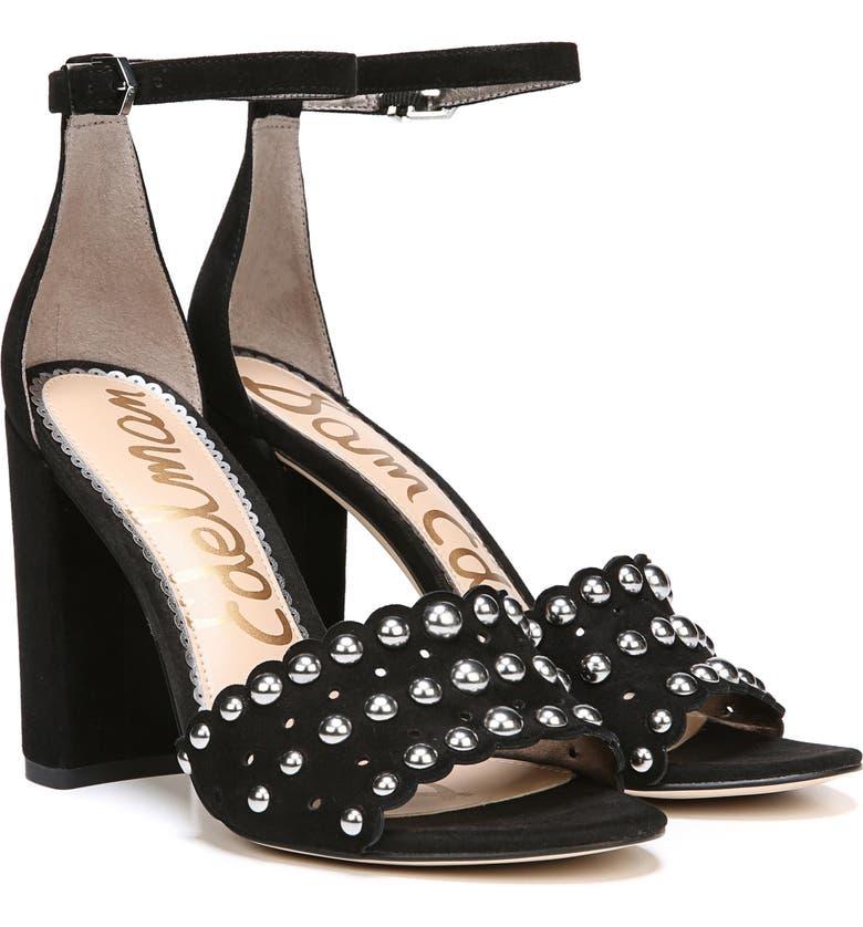 60200afce Sam Edelman Yaria Studded Block Heel Sandal (Women)