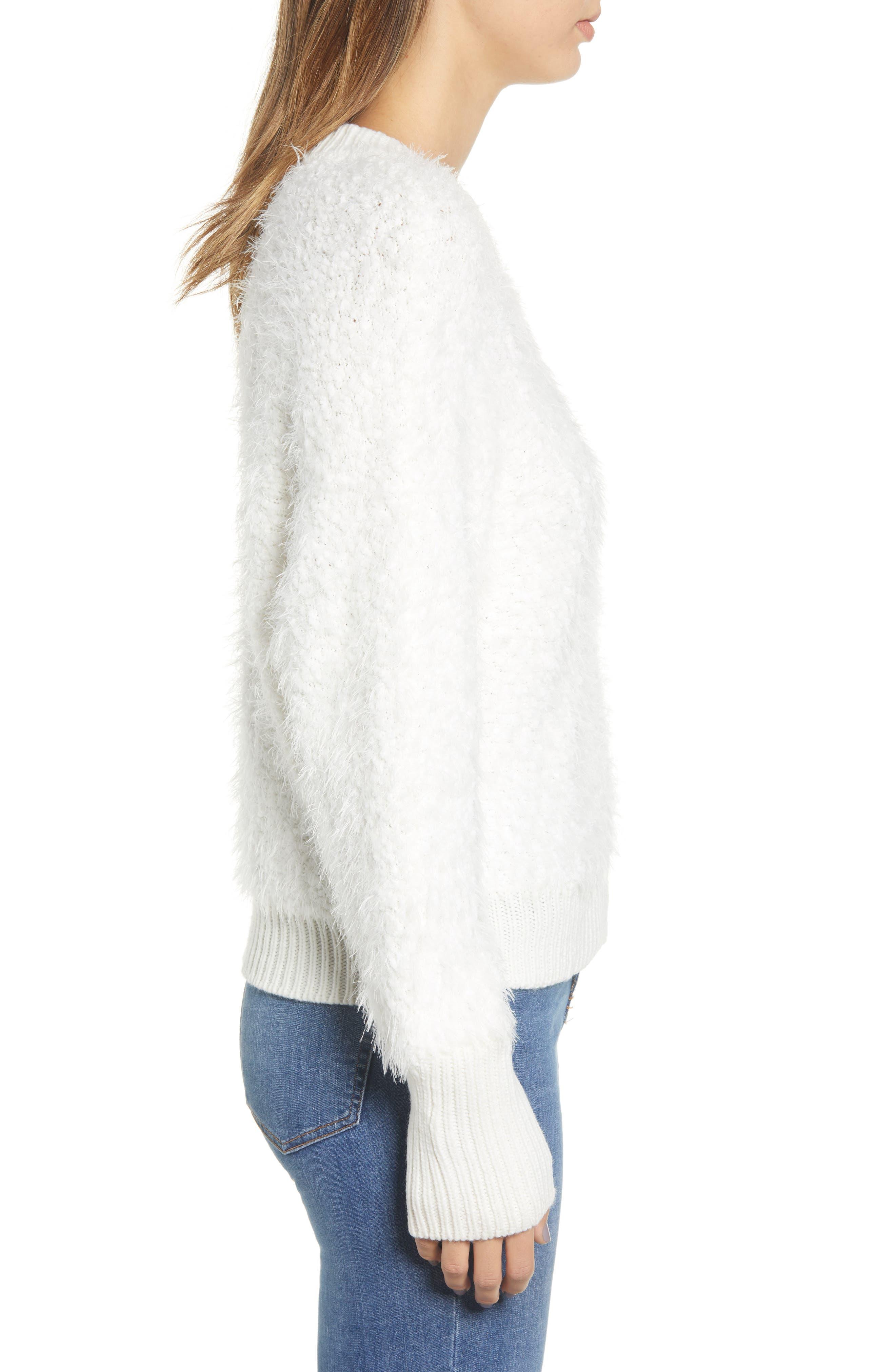 BP., Fluffy Dolman Sweater, Alternate thumbnail 3, color, 900