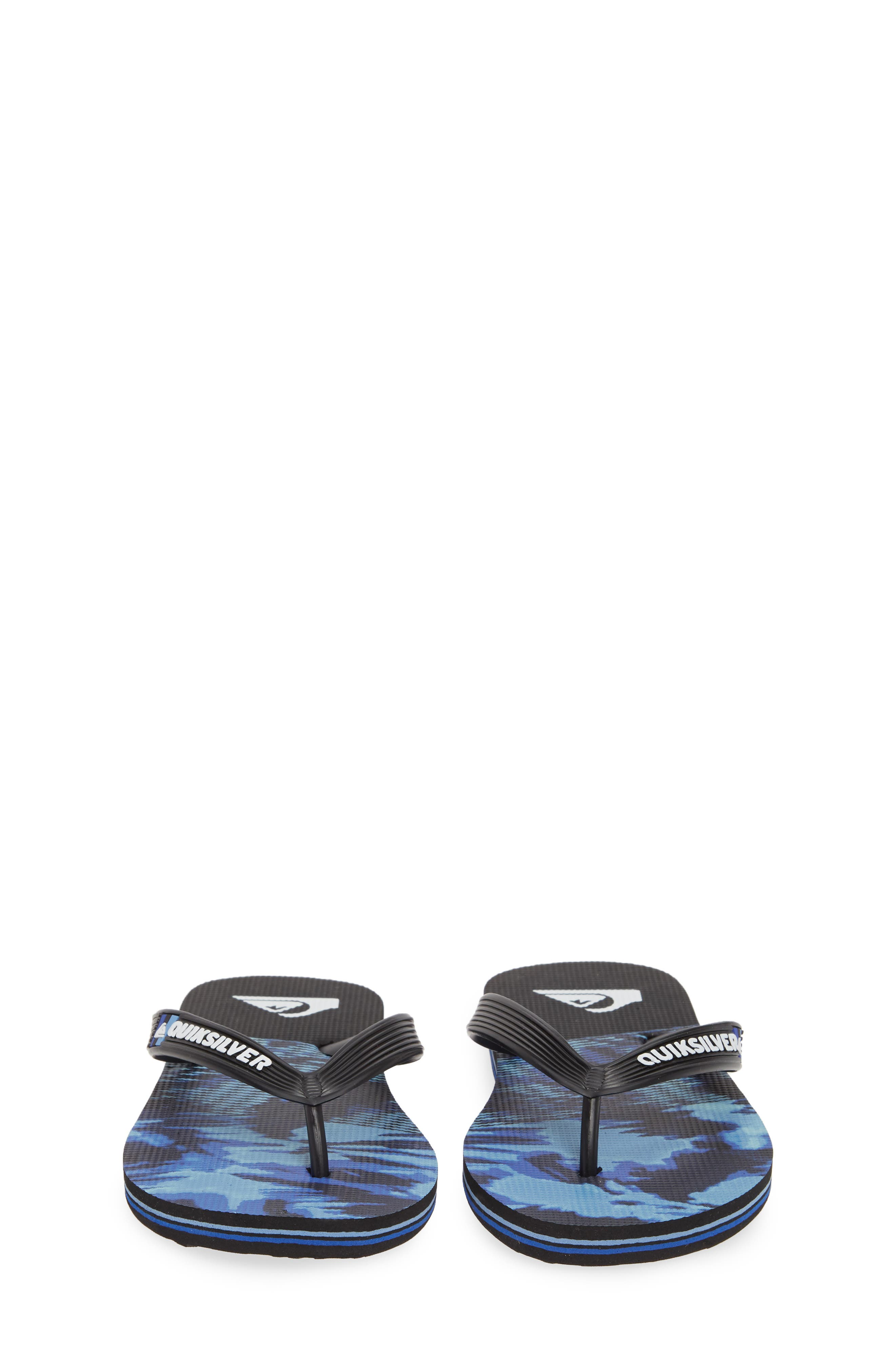 QUIKSILVER, Molokai Night Marcher Flip Flop, Alternate thumbnail 5, color, 006