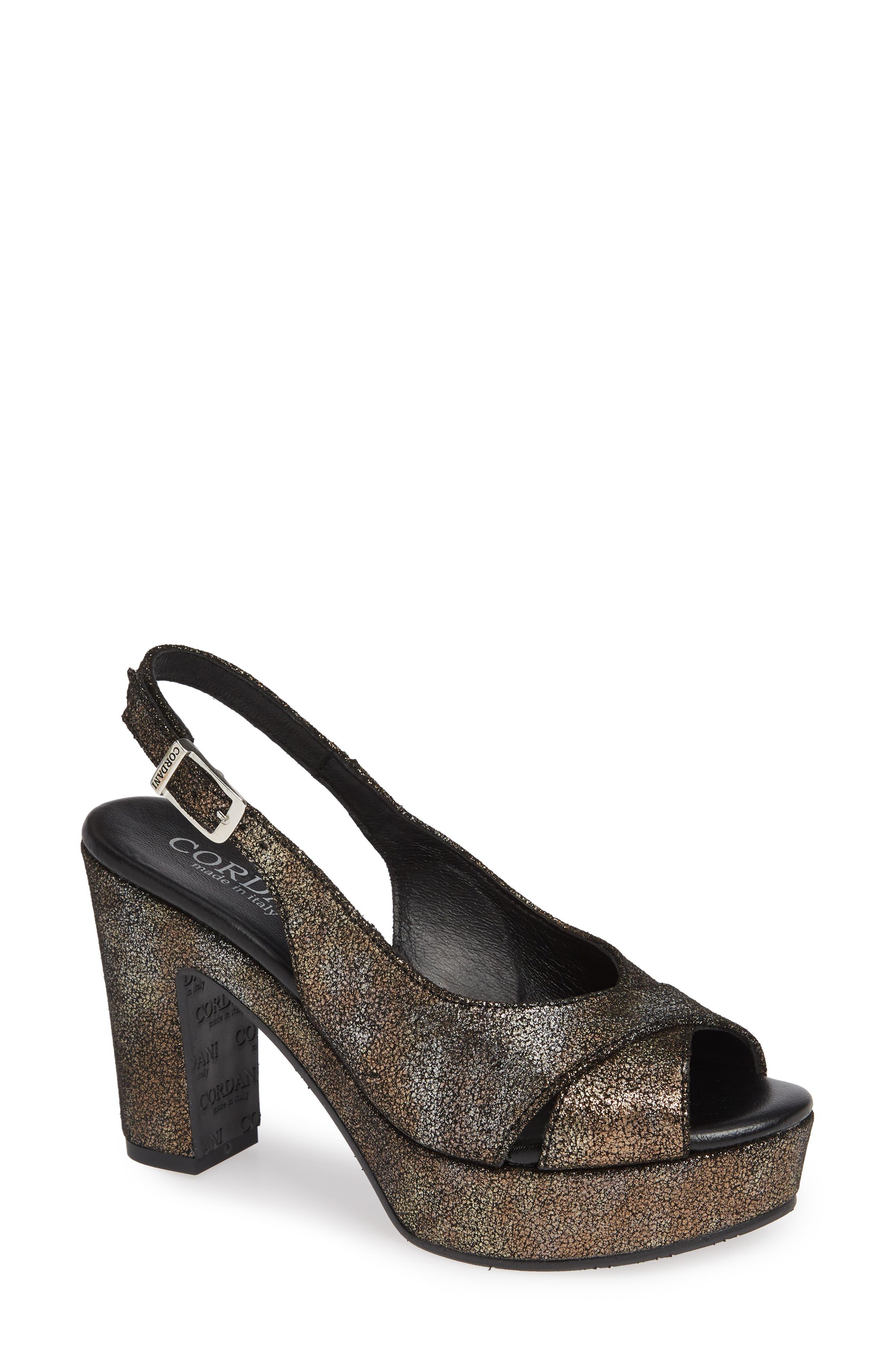 Cordani Tompkins Sandal - Metallic