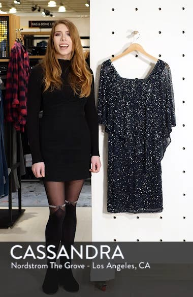 Beaded Cape Dress, sales video thumbnail