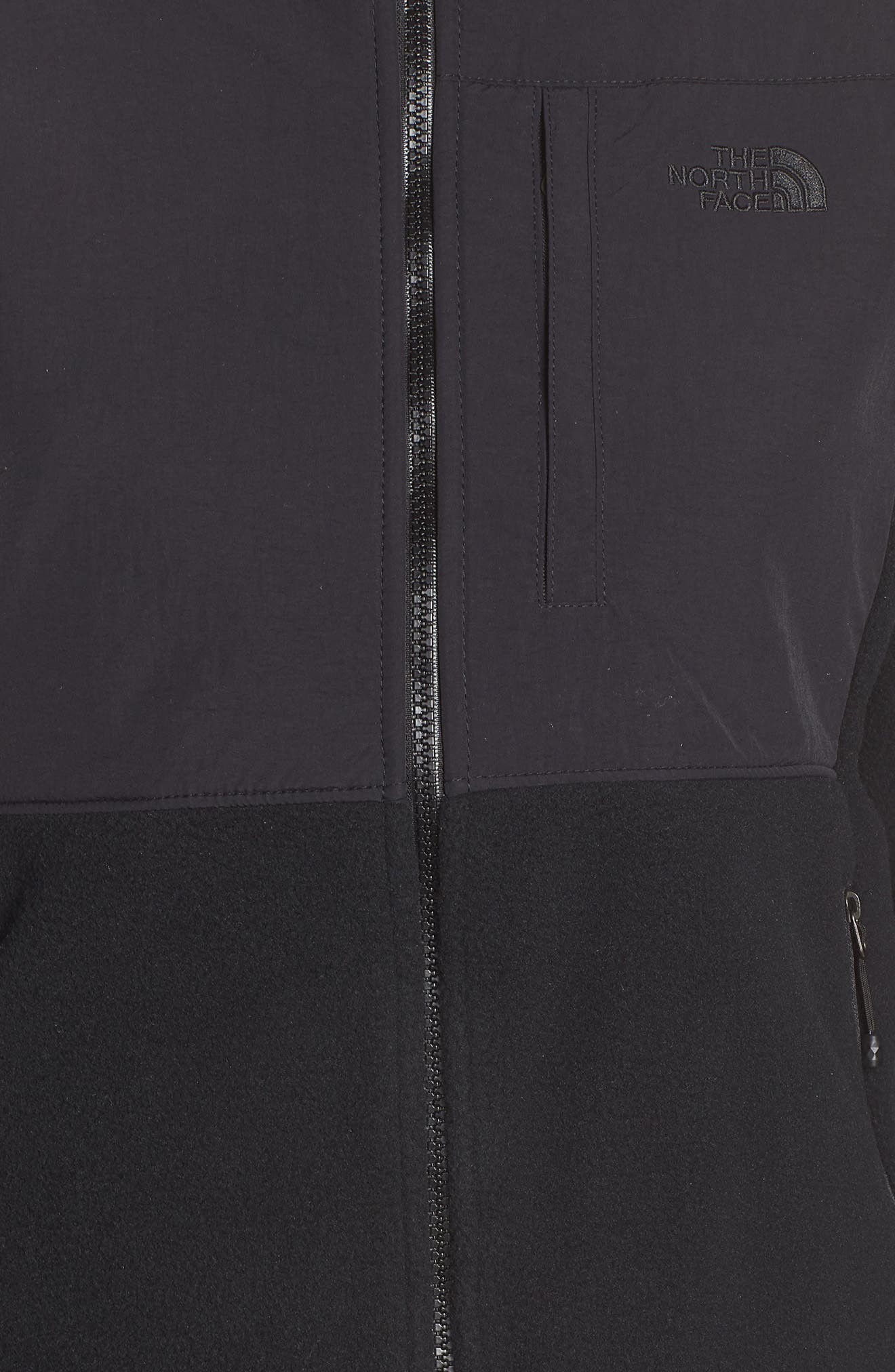 THE NORTH FACE, Denali 2 Jacket, Alternate thumbnail 7, color, TNF BLACK