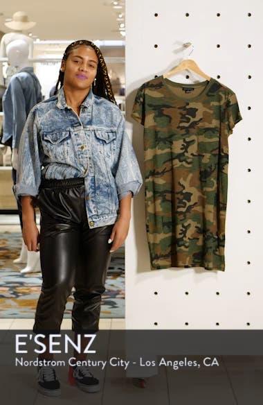 Camo Print T-Shirt Dress, sales video thumbnail