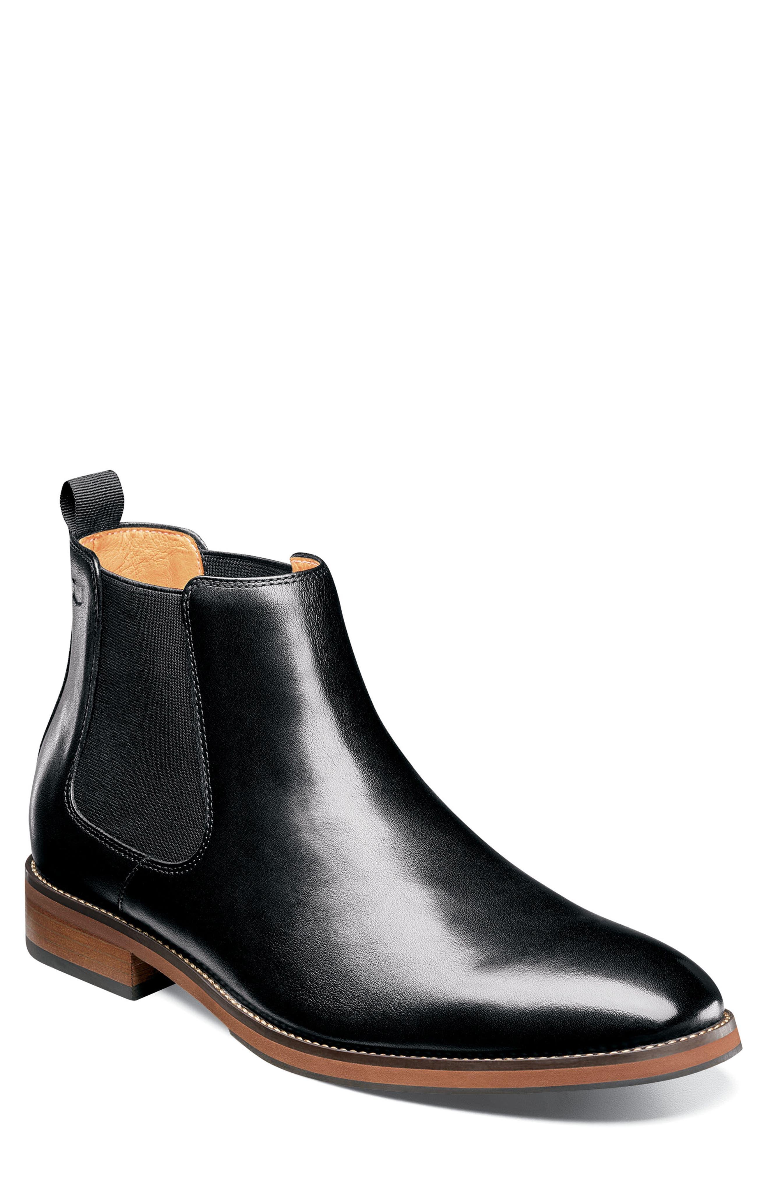 FLORSHEIM Blaze Mid Chelsea Boot, Main, color, 001